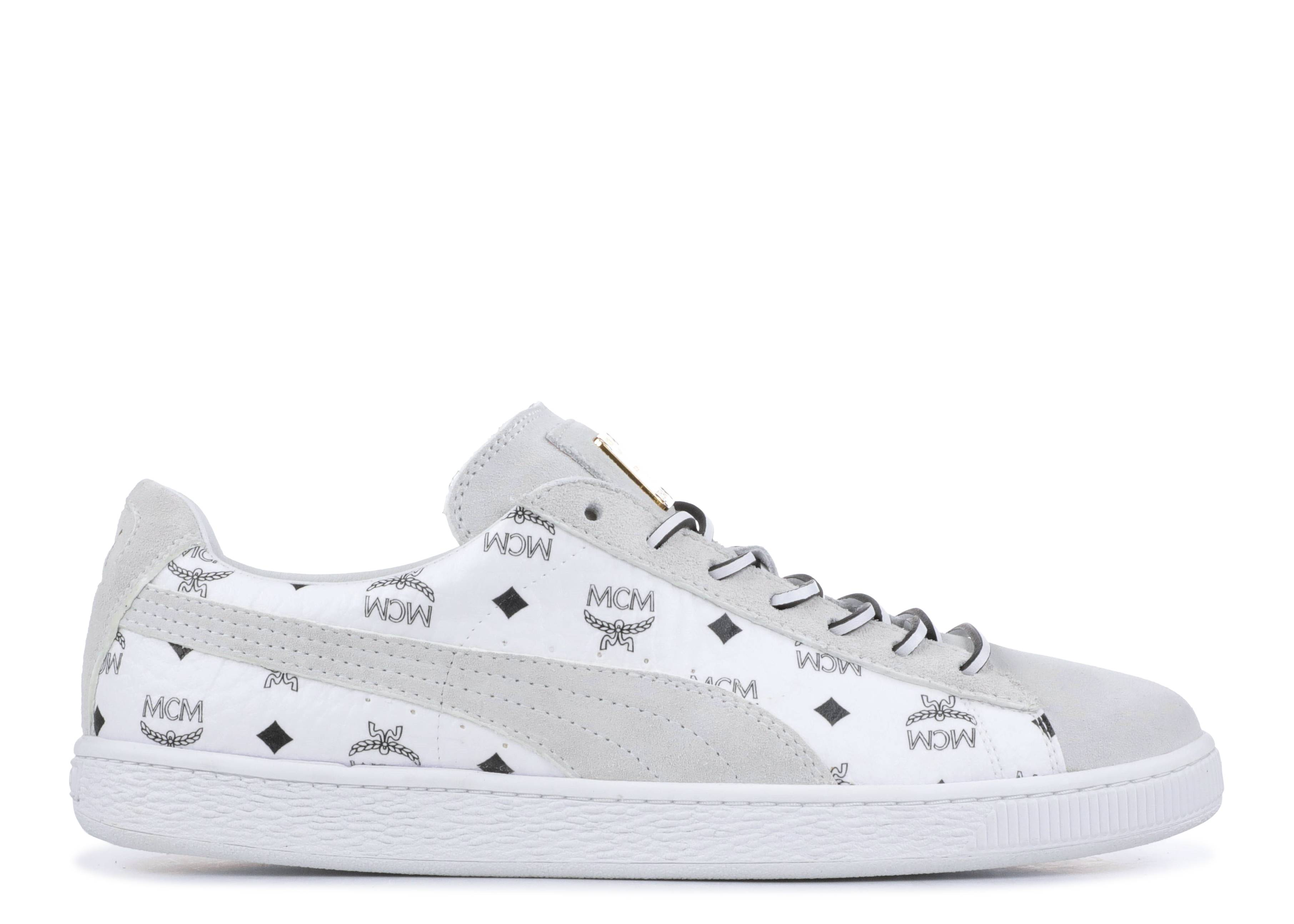 MCM x Suede 'Whisper White'
