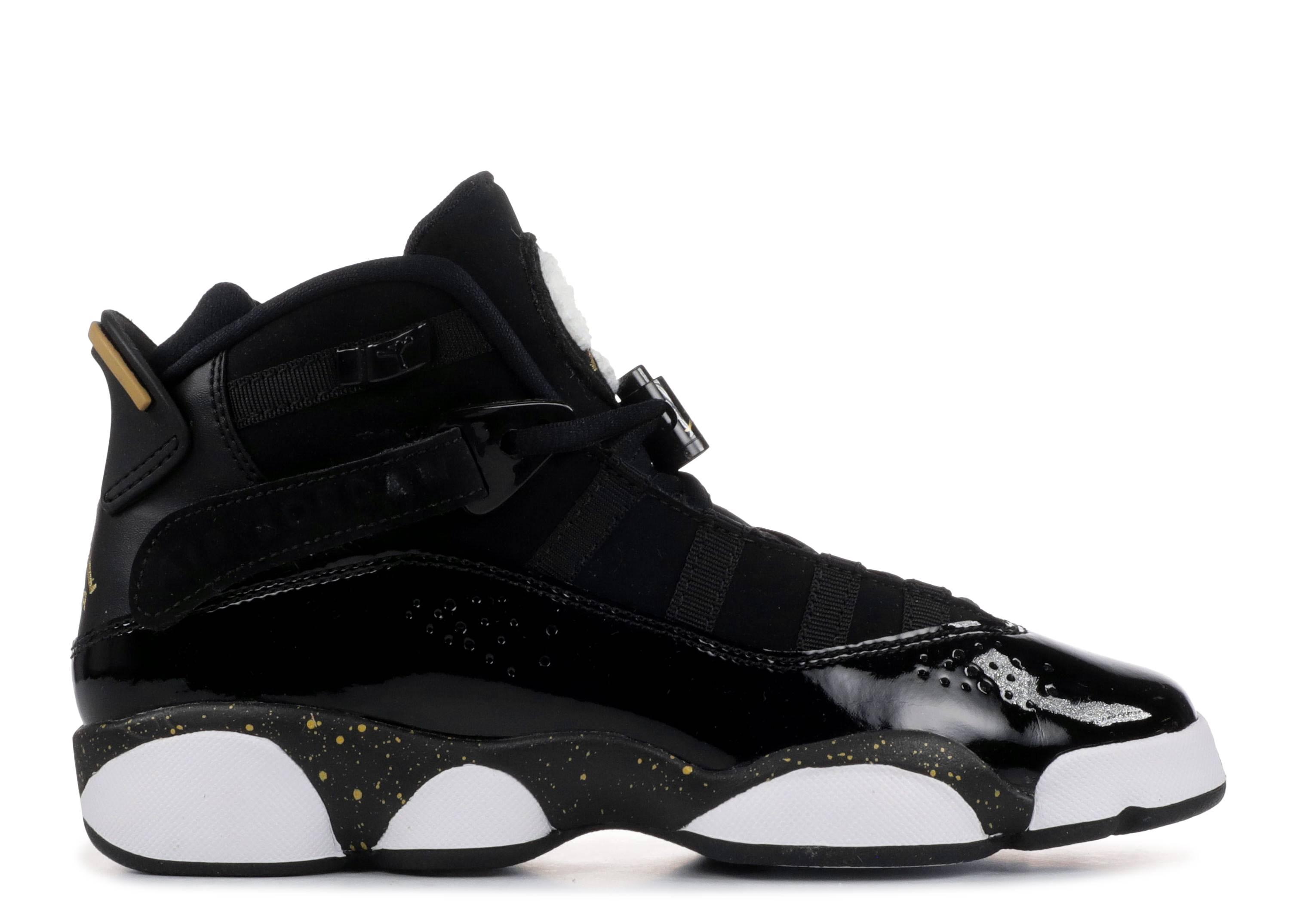 632dfa15af3 Jordan 6 Rings Gs - Air Jordan - 323419 007 - black/metallic gold ...