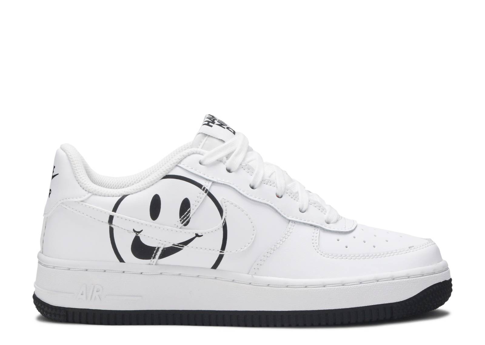 NIKE AIR FORCE 1 LOW 07 LV8 2 GS AV0742 100 HAVE A NIKE DAY