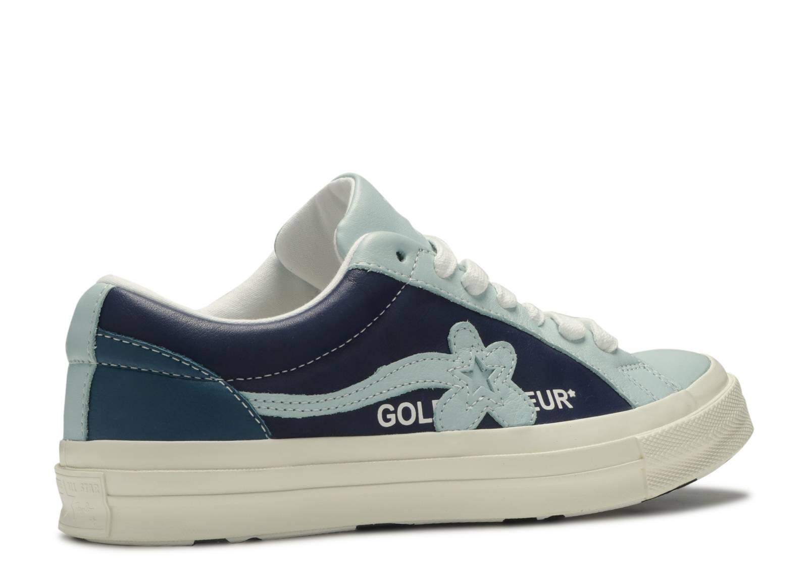 Golf Le Fleur X One Star Ox Industrial Pack Blue Converse 164024c Barely Blue Patriot Egret Flight Club