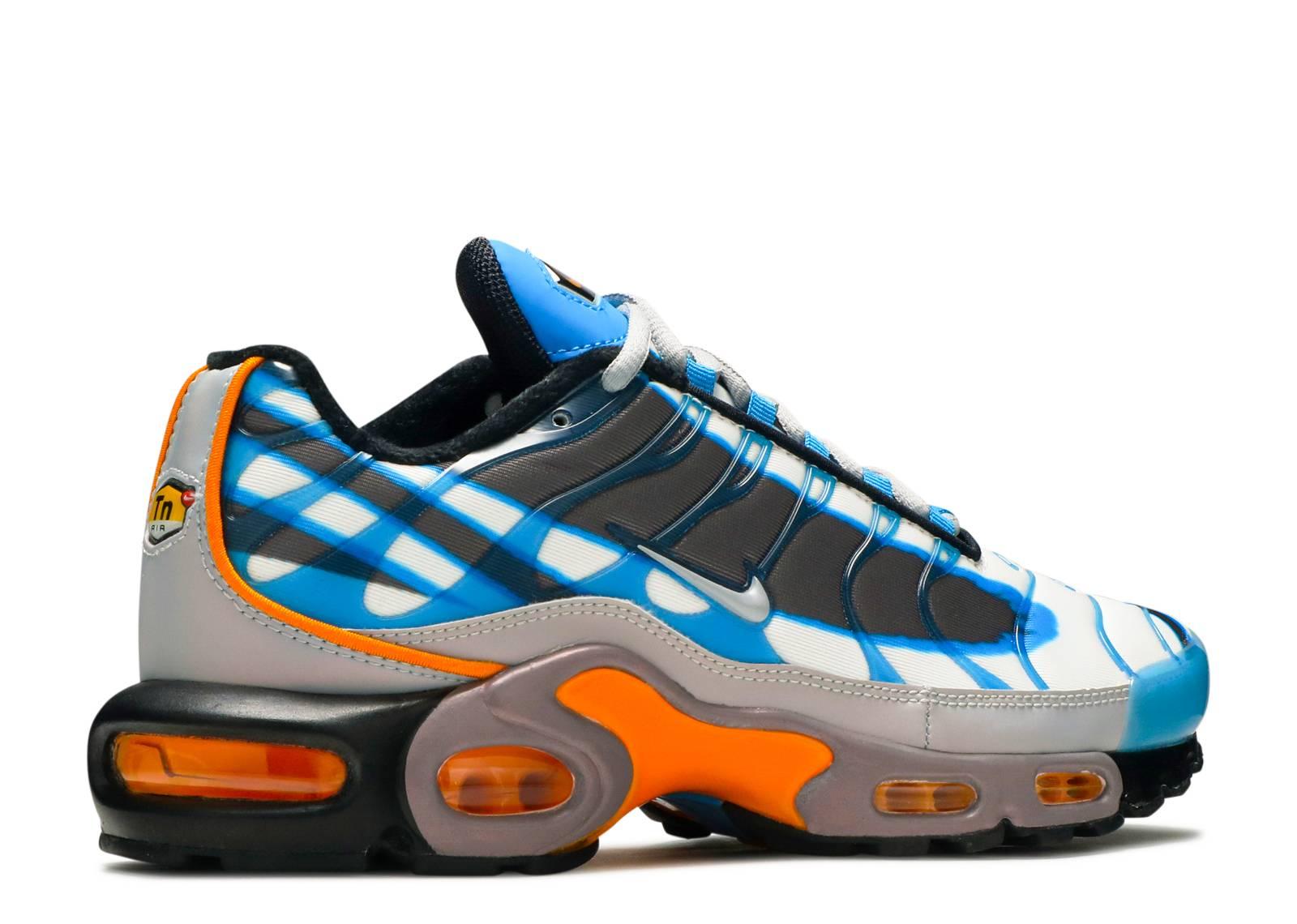 Air Max Plus Premium 'Photo Blue' - Nike - 815994 400 - photo blue/wolf  grey-orange peel-black   Flight Club