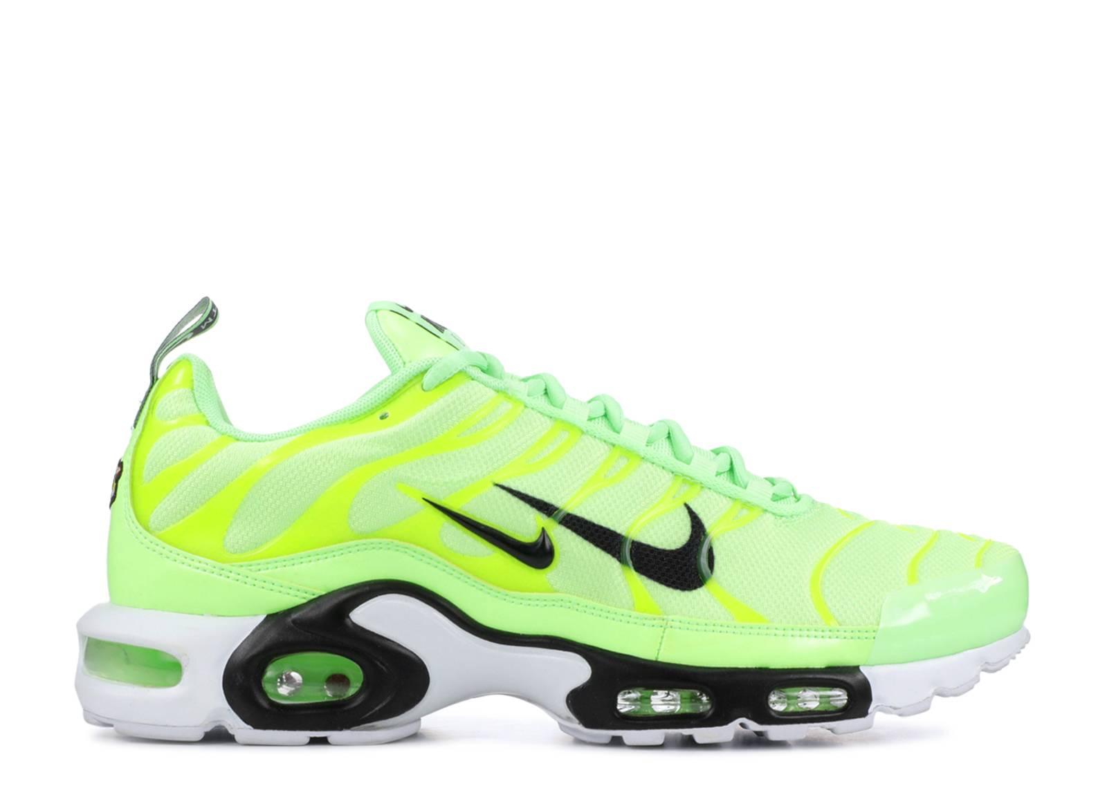 wholesale dealer 1be8f 2445f Nike Air Max Plus Premium 'Overbranding - Lime Blast'
