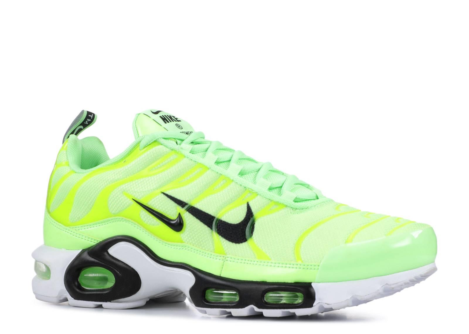 537e29cb29 ... Nike Air Max Plus Premium 'Overbranding - Lime Blast'