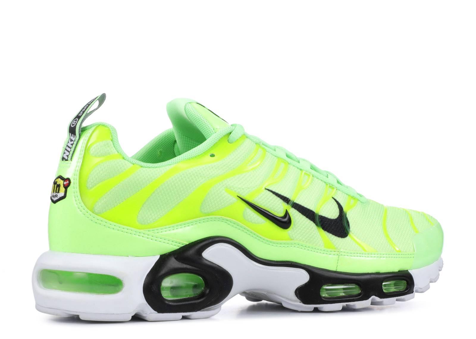 9ca8ec39e6 ... Nike Air Max Plus Premium 'Overbranding - Lime Blast'