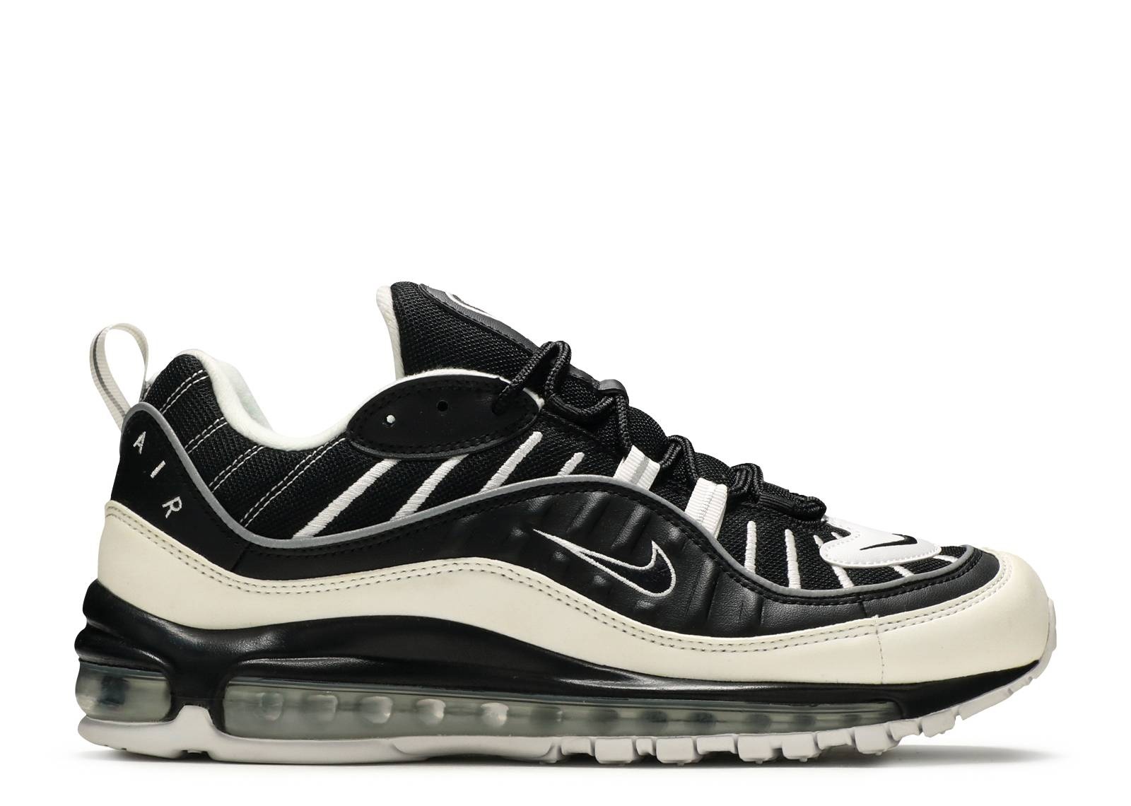 air max 98 white and black