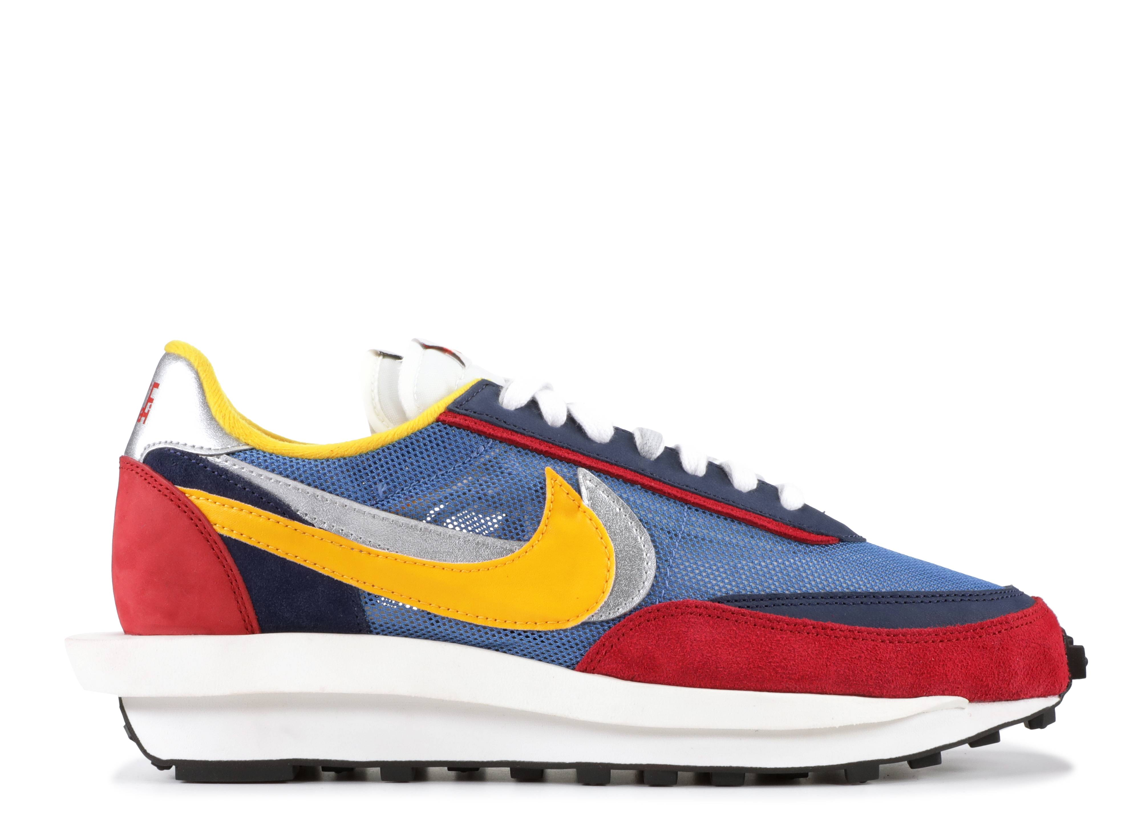 Nike x Sacai LDWaffle Sneaker Varsity Red Blue 41 Neu OVP
