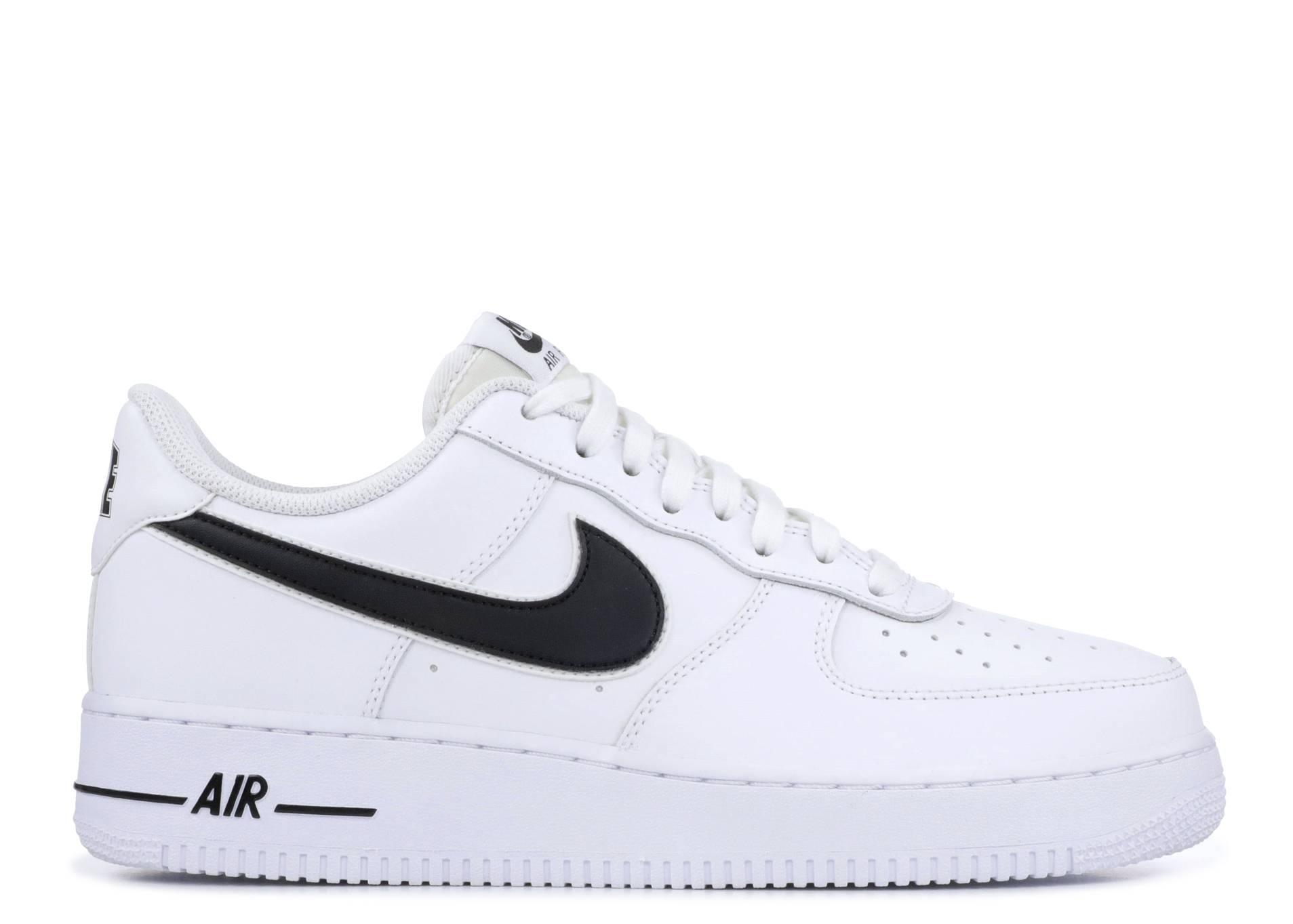 Nike Sportswear Schuhe Air Force 1 '07 3 WhiteBlack