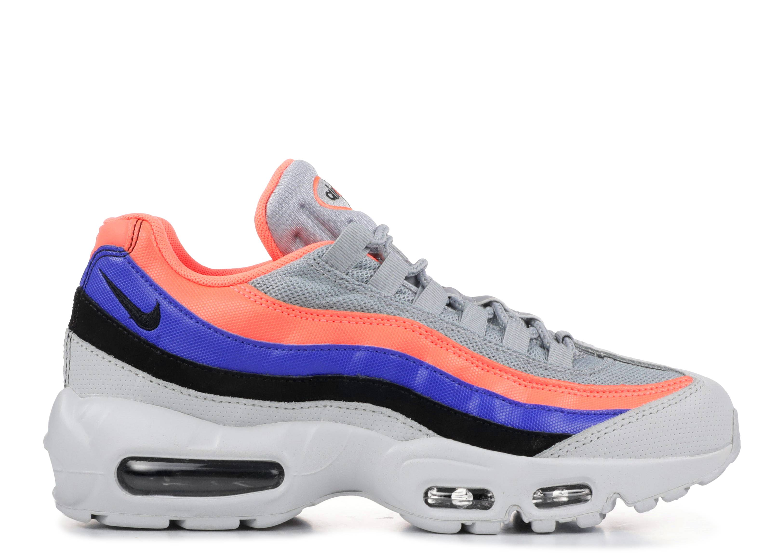 f8c9e7389 Air Max 95 - Nike - 749766 035 - pure platinum/bright mango   Flight ...