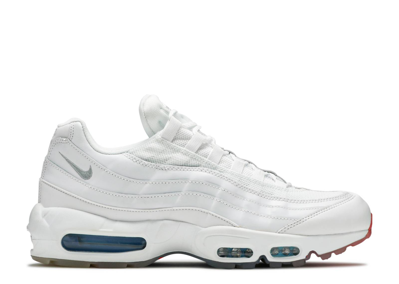 897845945e Nike Air Max 95 - Nike - AQ7981 100 - white/photo blue-glacier blue ...