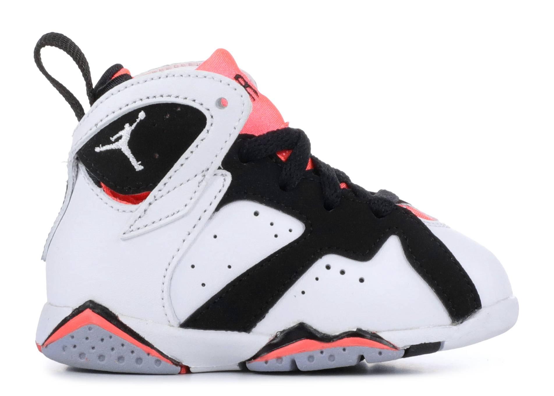 a575b1546bd2 Jordan 7 Retro Gt - Nike - 705418 106 - white white -black hot lava ...