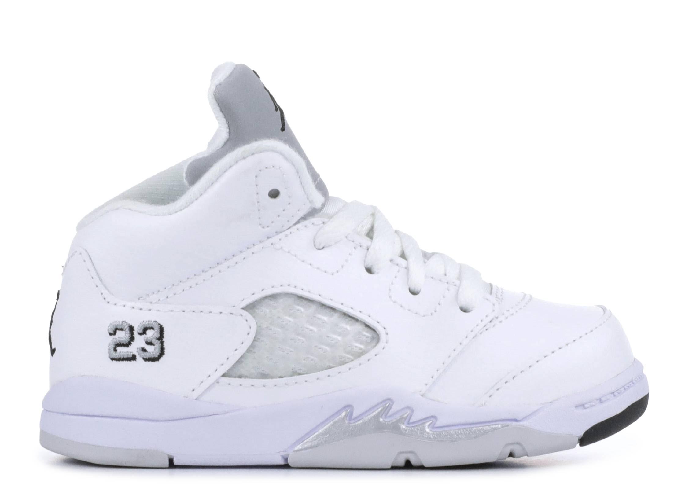 097d2a828fcb8d Jordan Retro 5 - Air Jordan - 440890 130 - white metallic silver ...