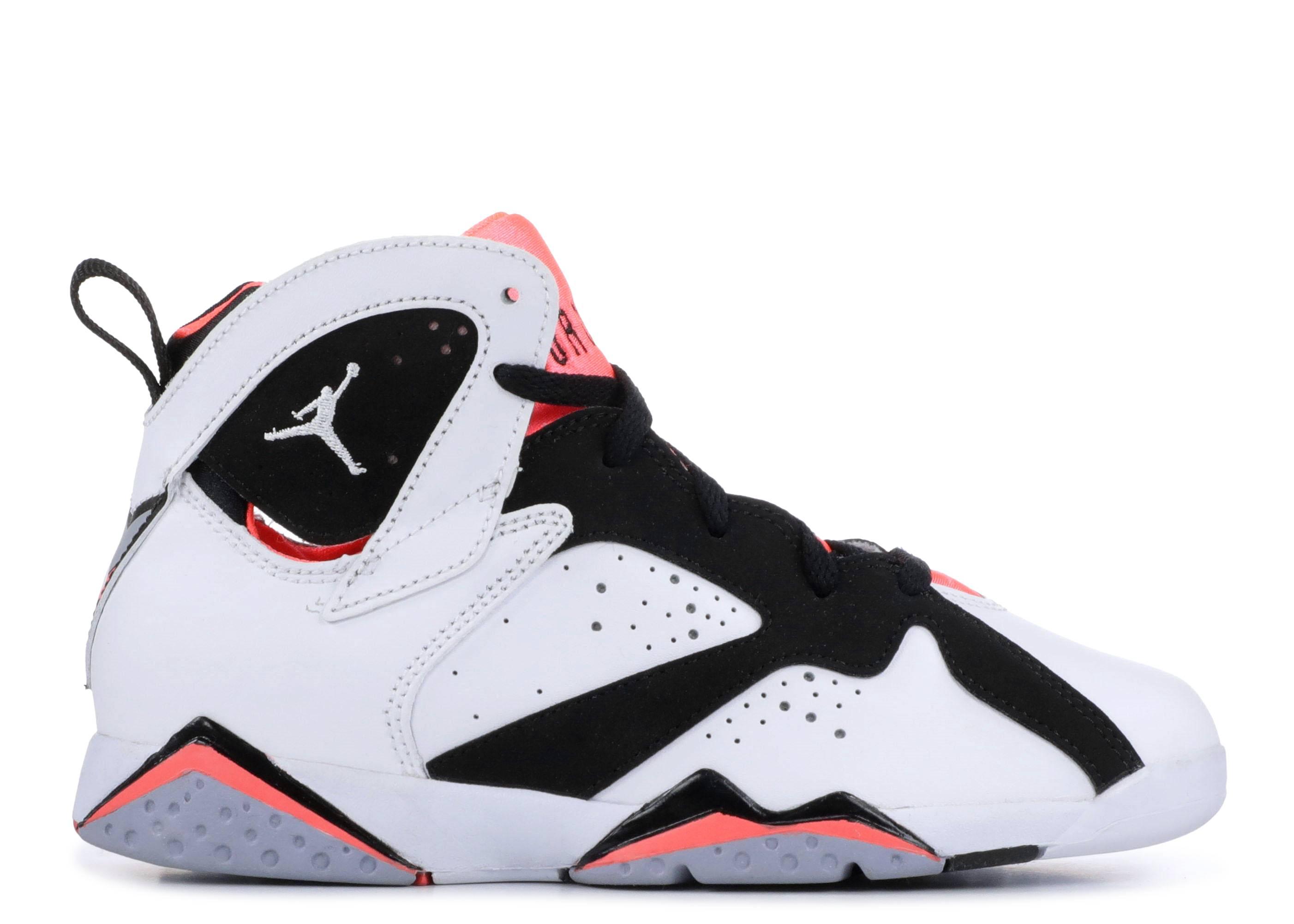 b5f2dd5ddd8f28 Jordan Retro 7 - Air Jordan - 442961 106 - white black hot lava grey ...