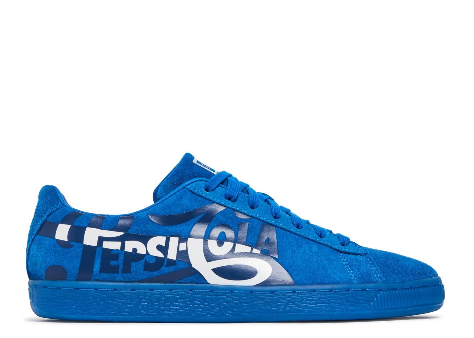 newest 1d2b5 1638b Pepsi x Suede Classic 'Clean Blue'