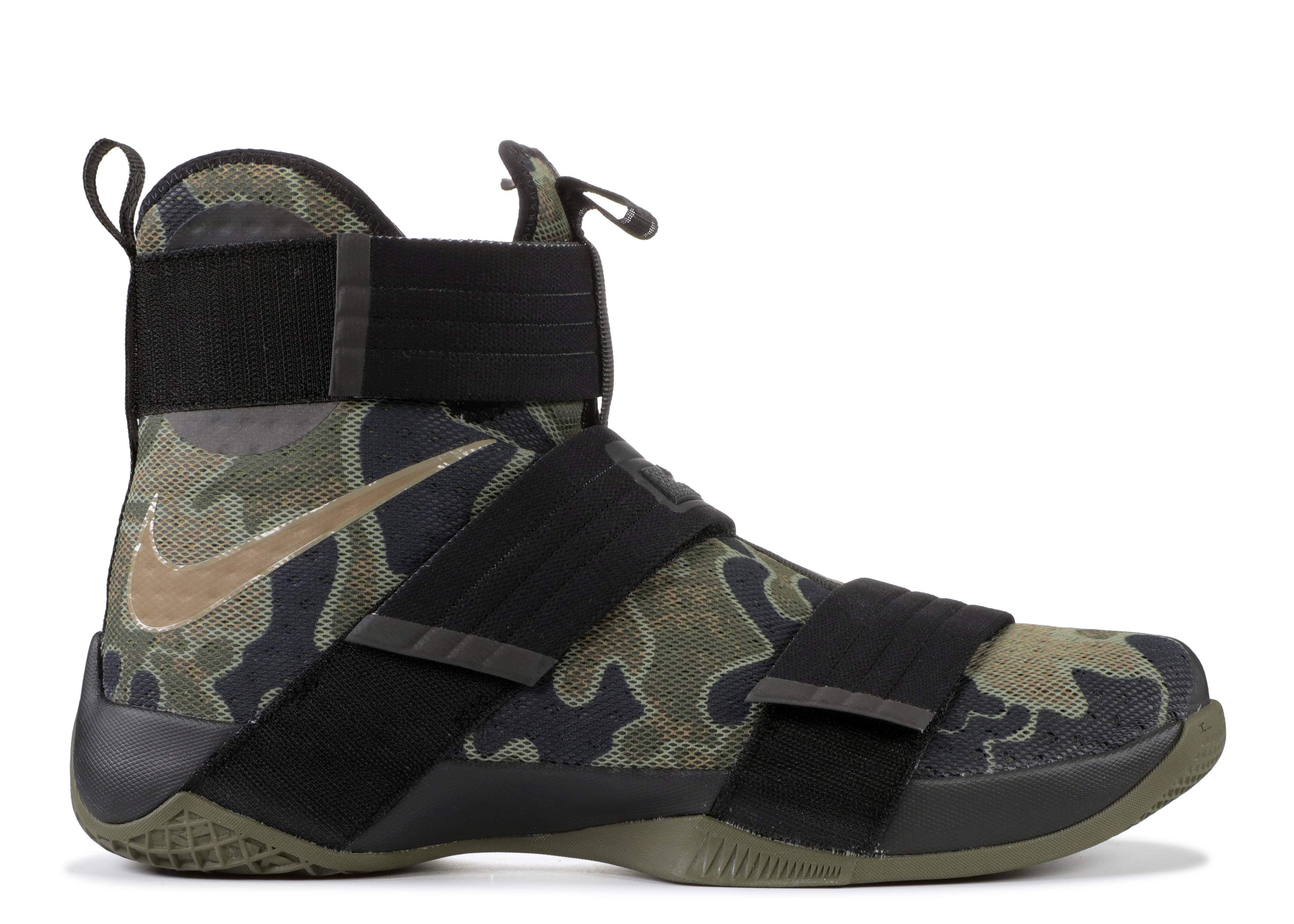 "lebron soldier 10 sfg ""army camo"""