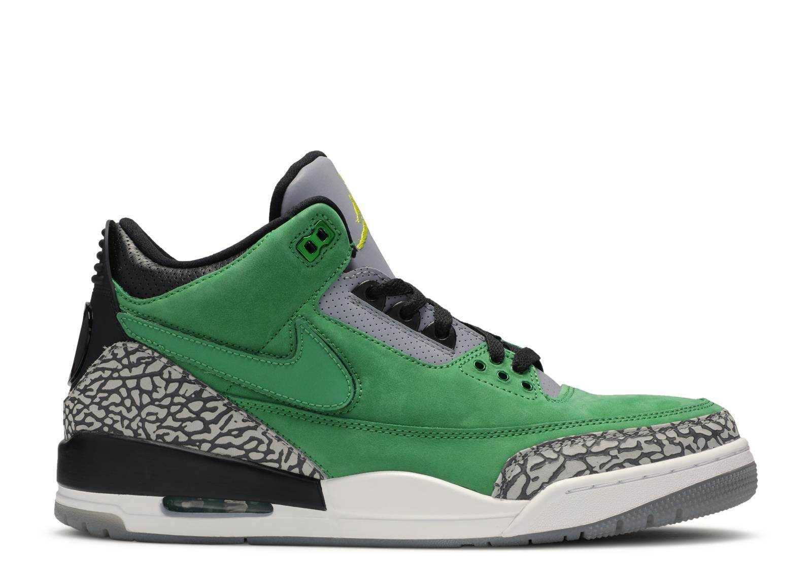"air jordan 3 retro ""Oregon Duck"""