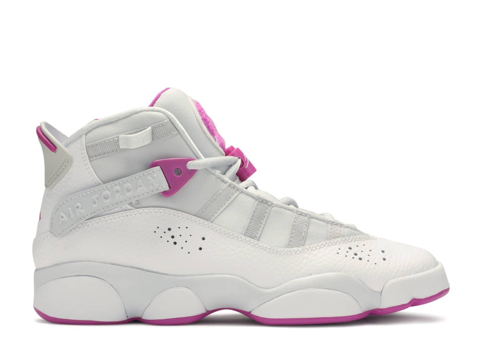 promo code 9298c 091a9 Jordan 6 Rings GS 'Platinum Fuchsia'