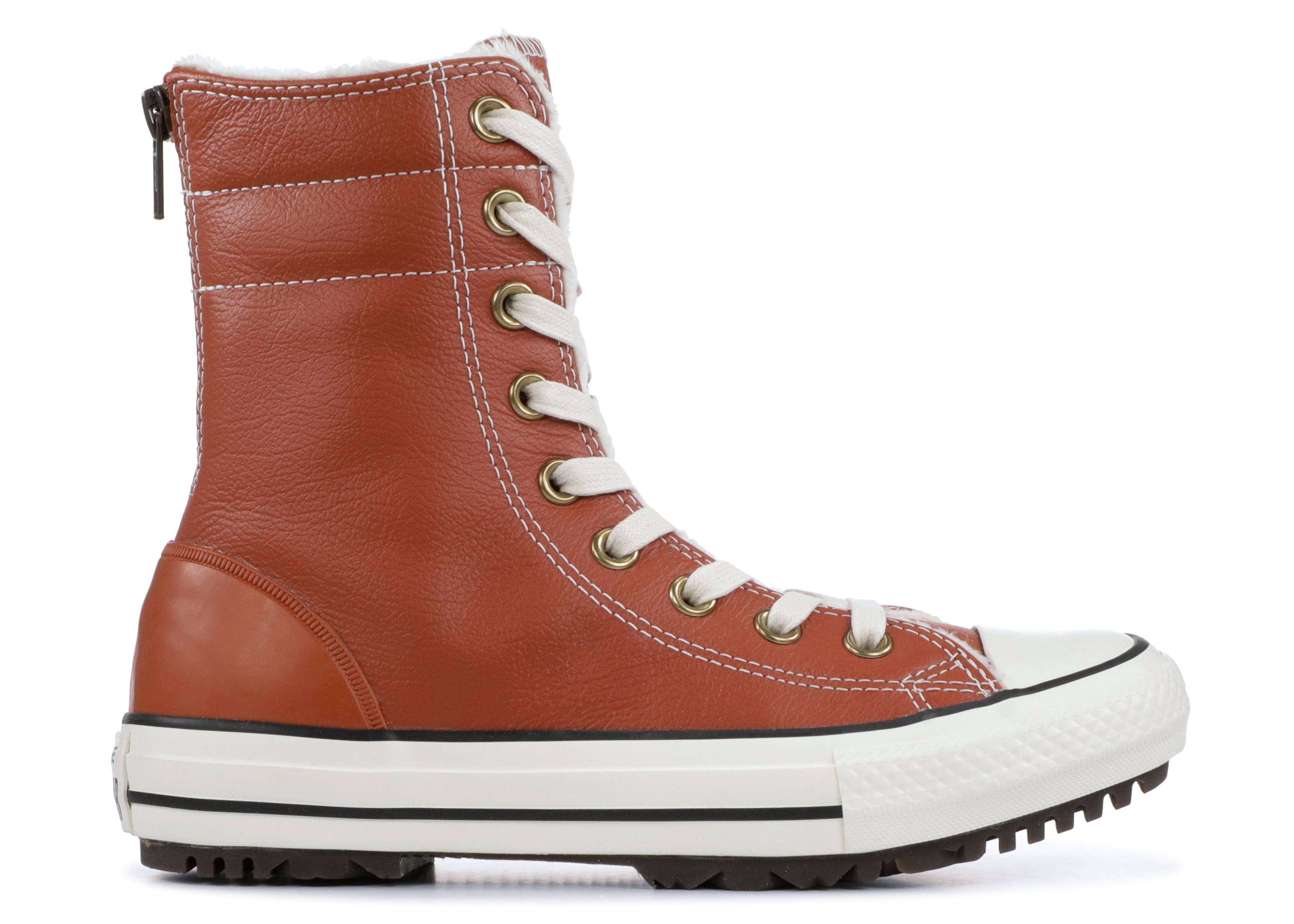 ctas hi-rise boot leather+fur