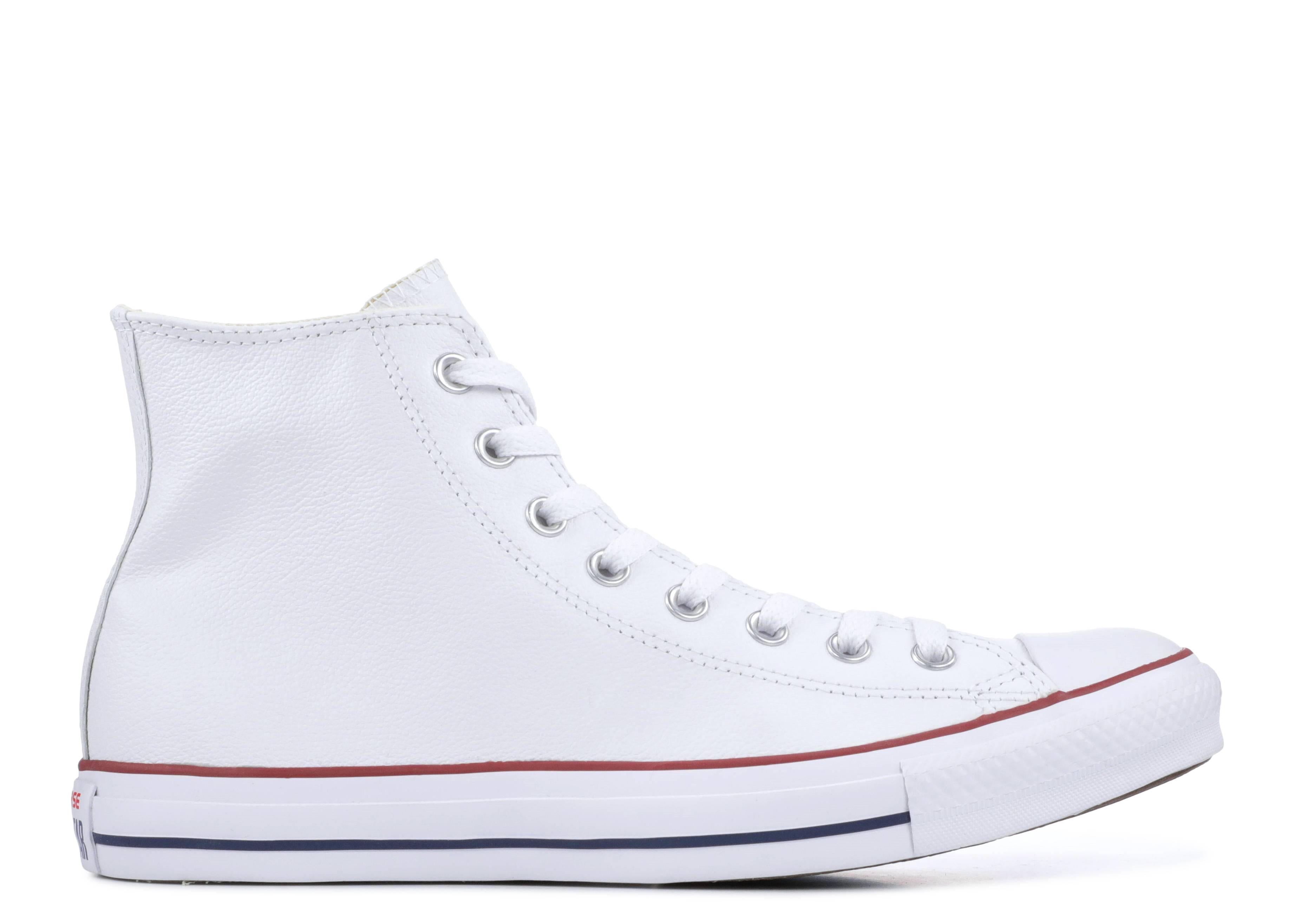 "Chuck Taylor All Star Leather High ""White"""