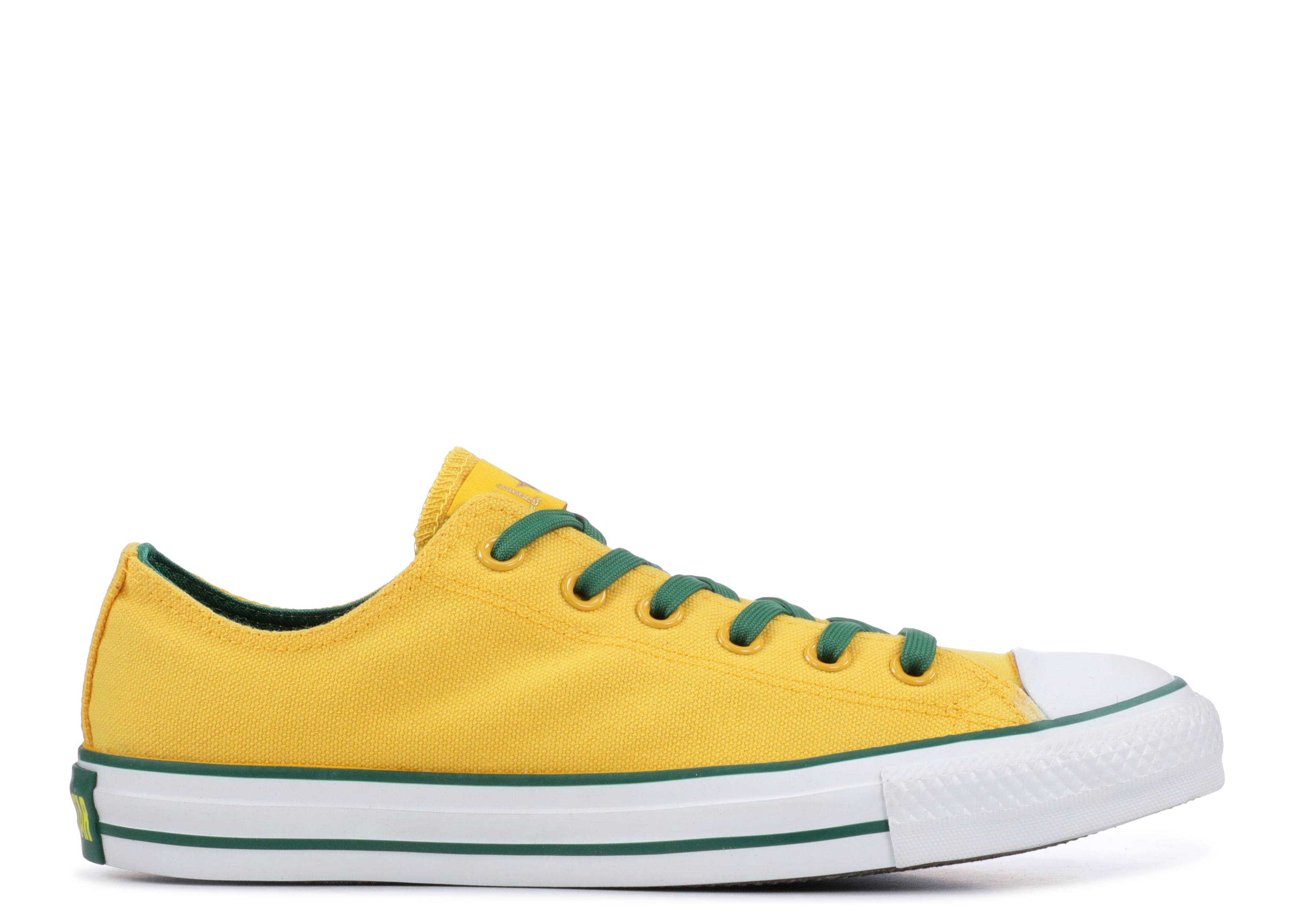 "Chuck Taylor All Star Ox ""Yellow"""