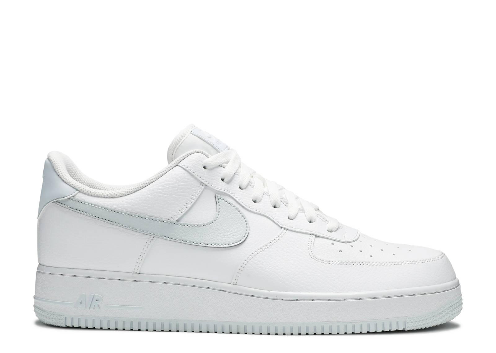"Nike Air Force 1 Low ""07 ""White Metallic Silver"" ""White Metallic Silver"""