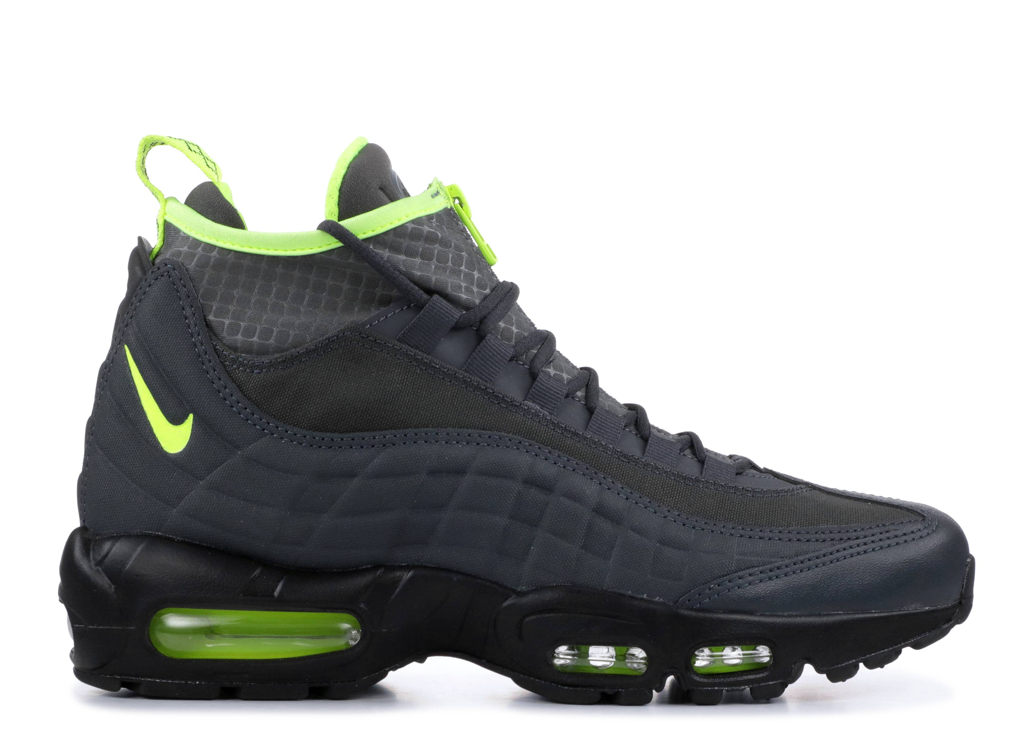 466a83abdb Nike Air Max 95 Sneakerboot - Nike - 806809 003 - anthracite/volt ...