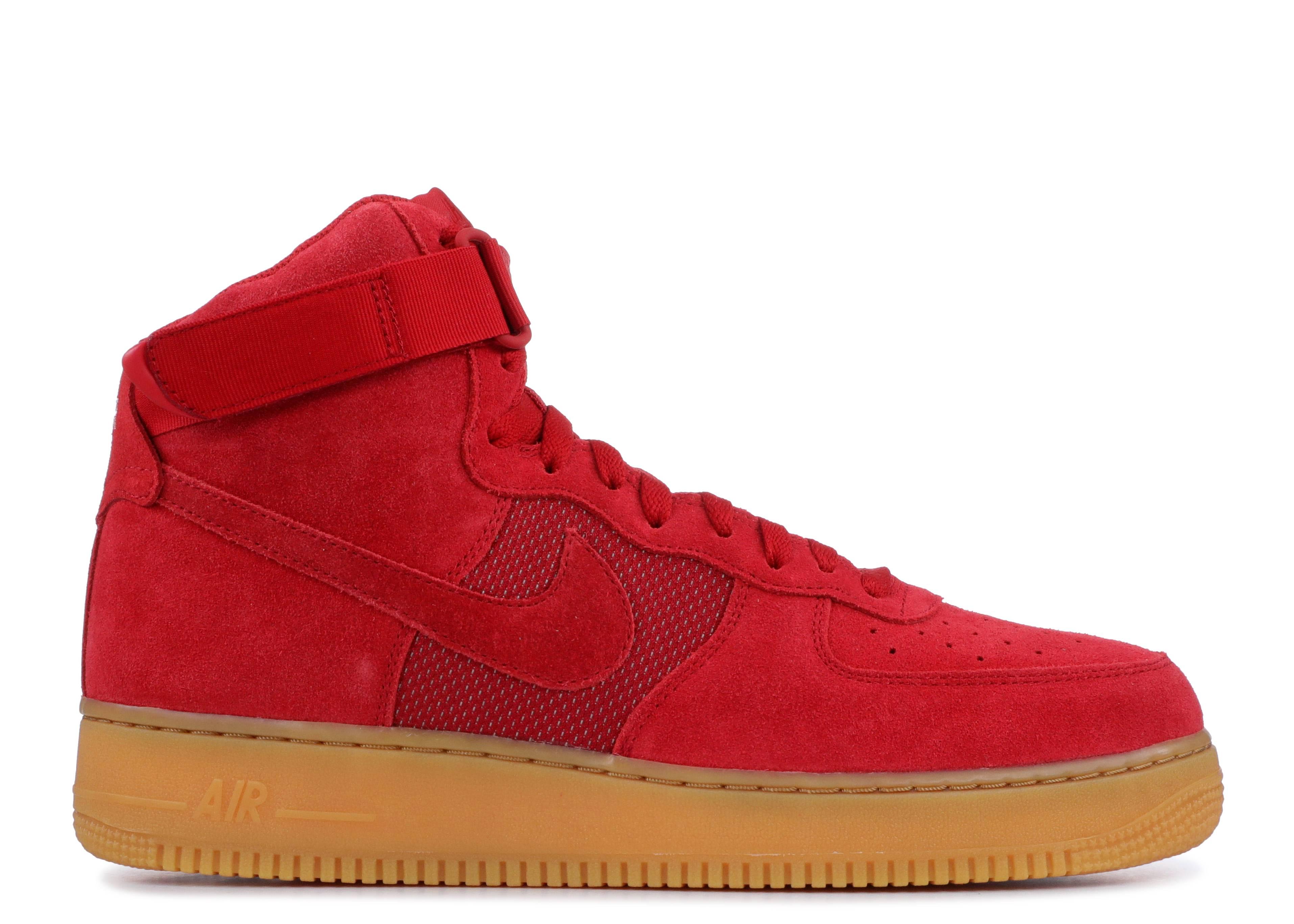 Nike Air Force 1 High Gym Red Gum 806403 601   SneakerFiles