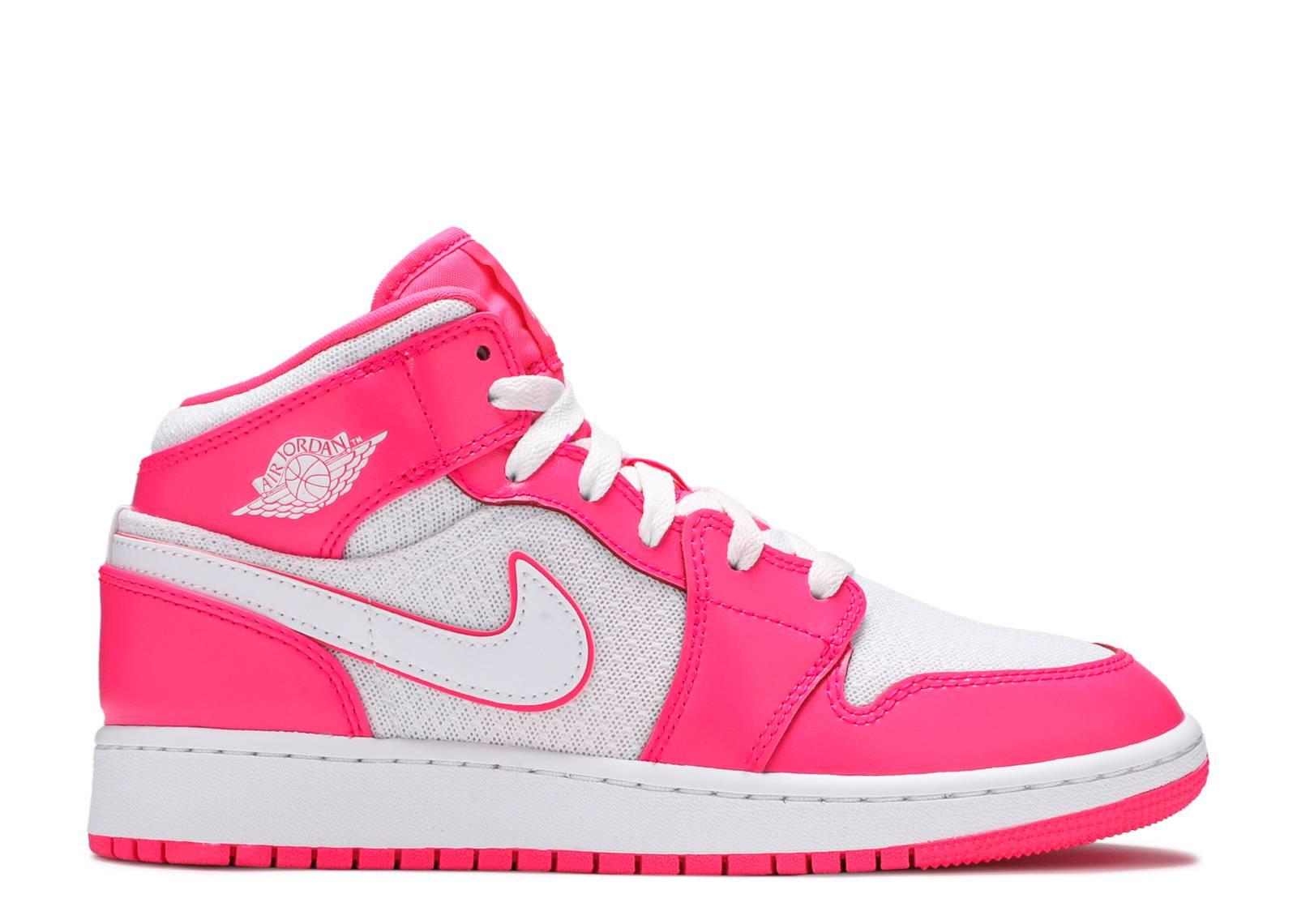"Air Jordan 1 Mid GS  ""Hyper Pink"""