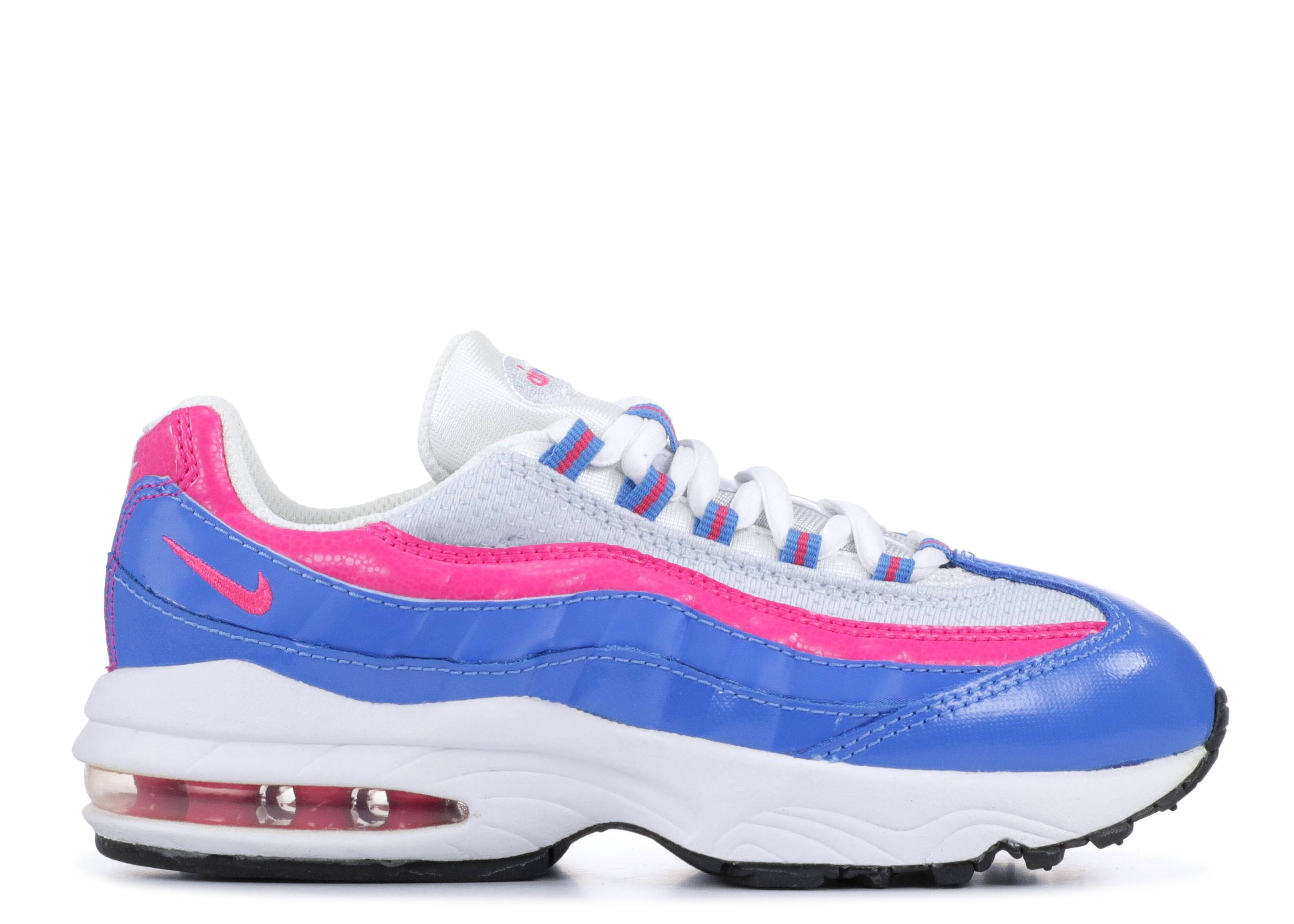 fe138de68dab Air Max 95 Le Ps - Nike - 310831 110 - white pink fl dusting black ...