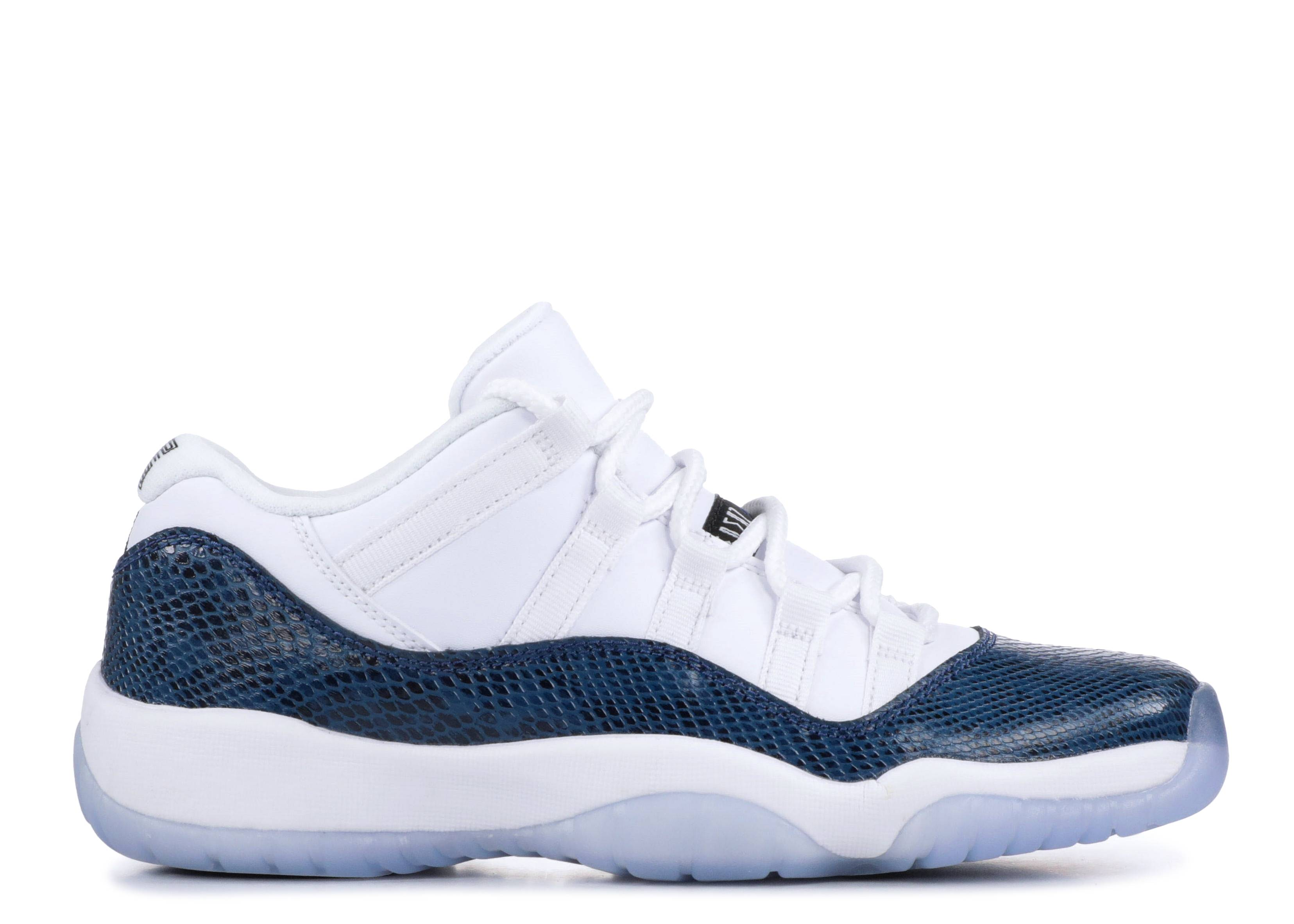 "Jordan 11 Retro Low GS  ""Navy Snakeskin"""