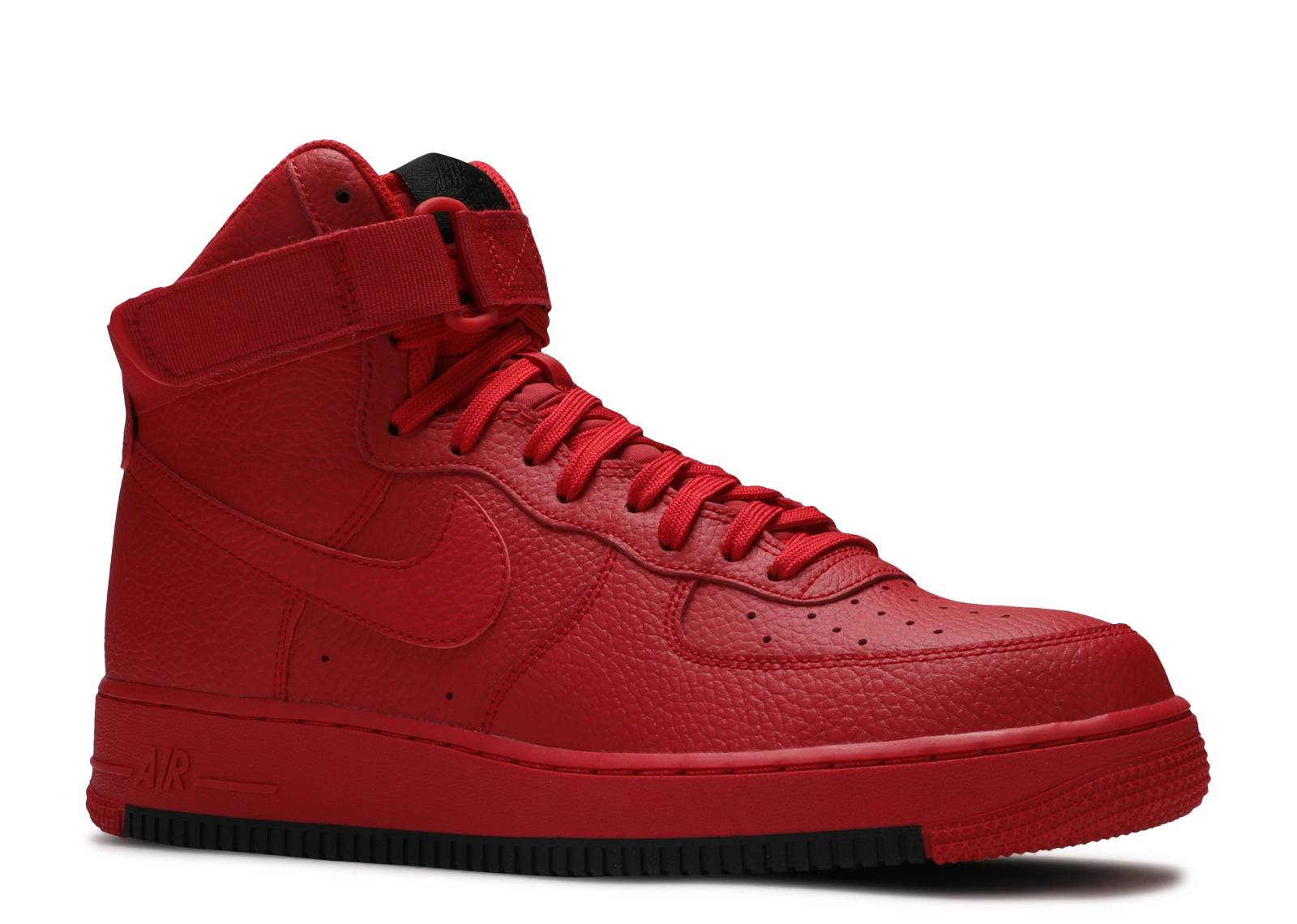 Air Force 1 High University Red Black Nike Ao2440 600