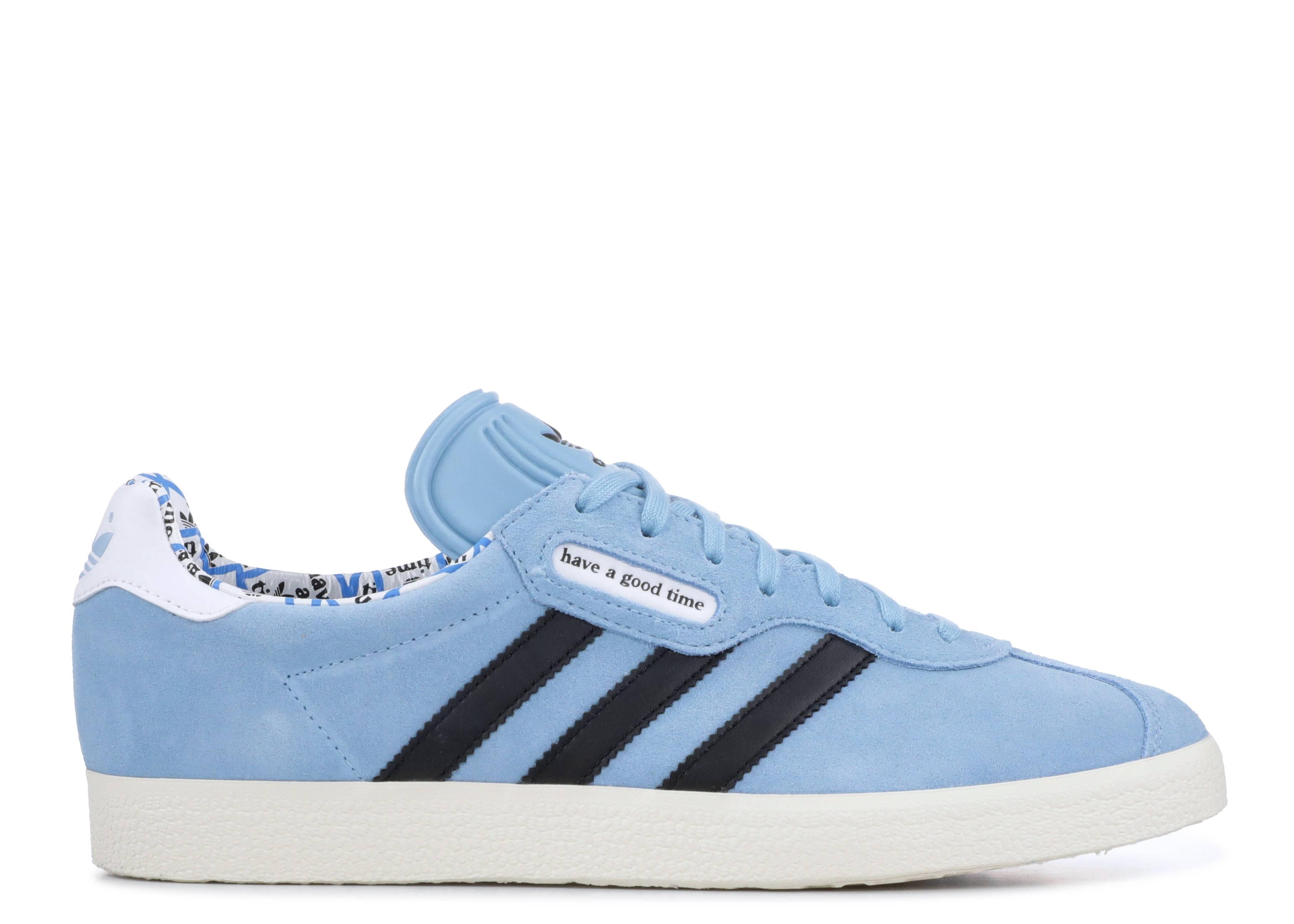 """adidas gazelle  """"Clear Blue"""""""