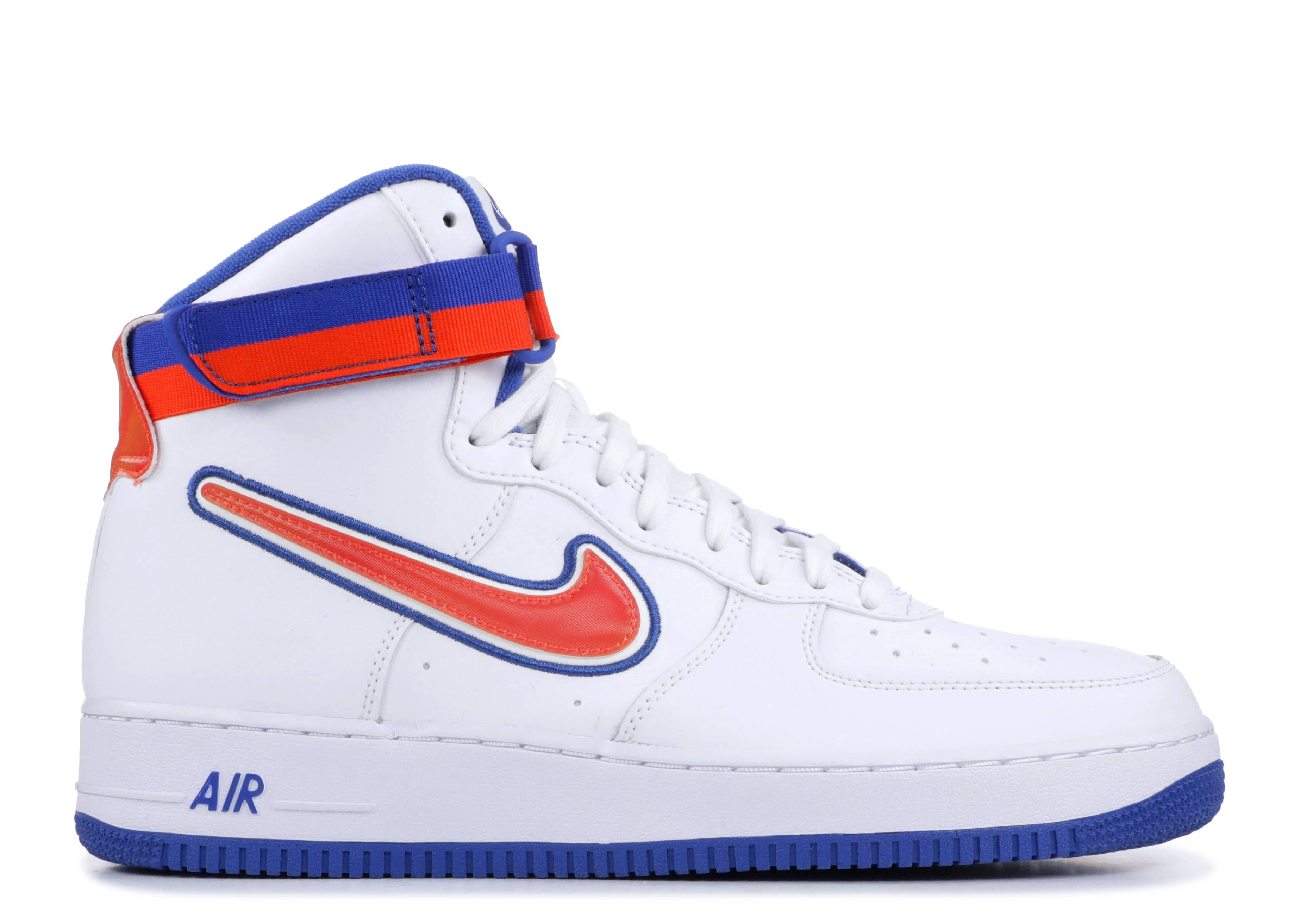 "Air Force 1 High '07 LV8 Sport 'Knicks' ""KNICKS"""