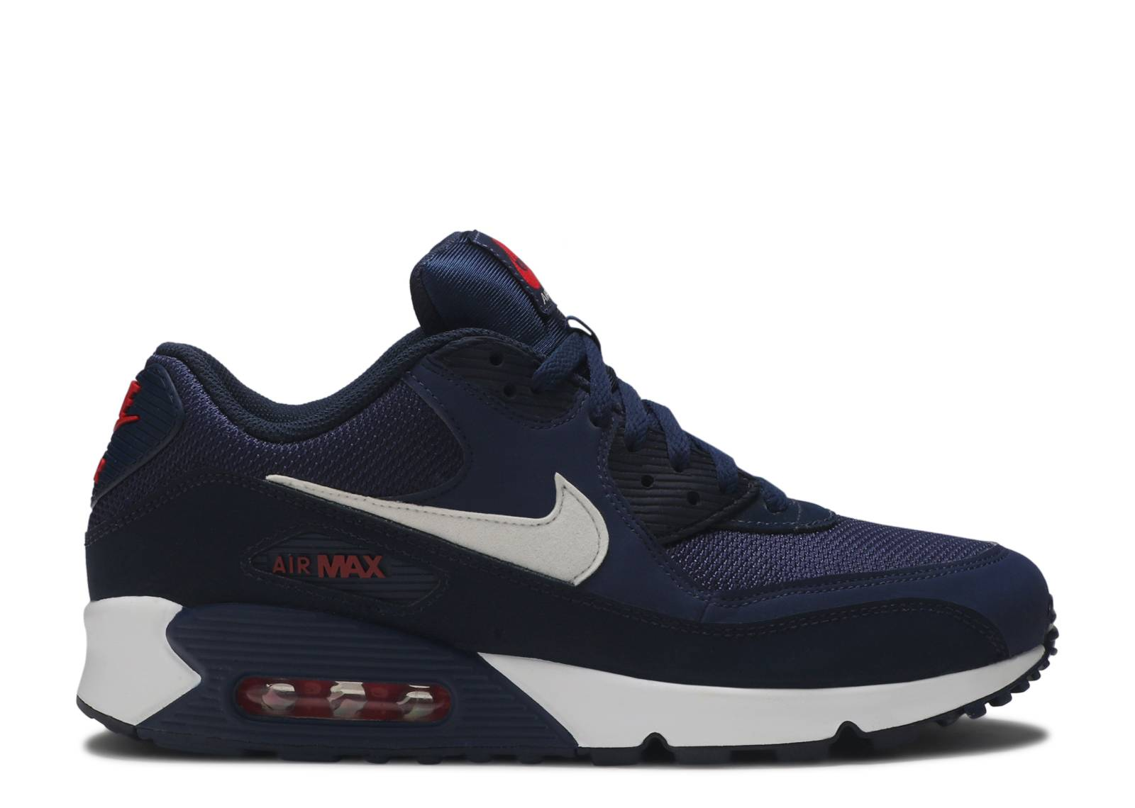 Nike Air Max 1 Midnight Navy University Red | SneakerFiles
