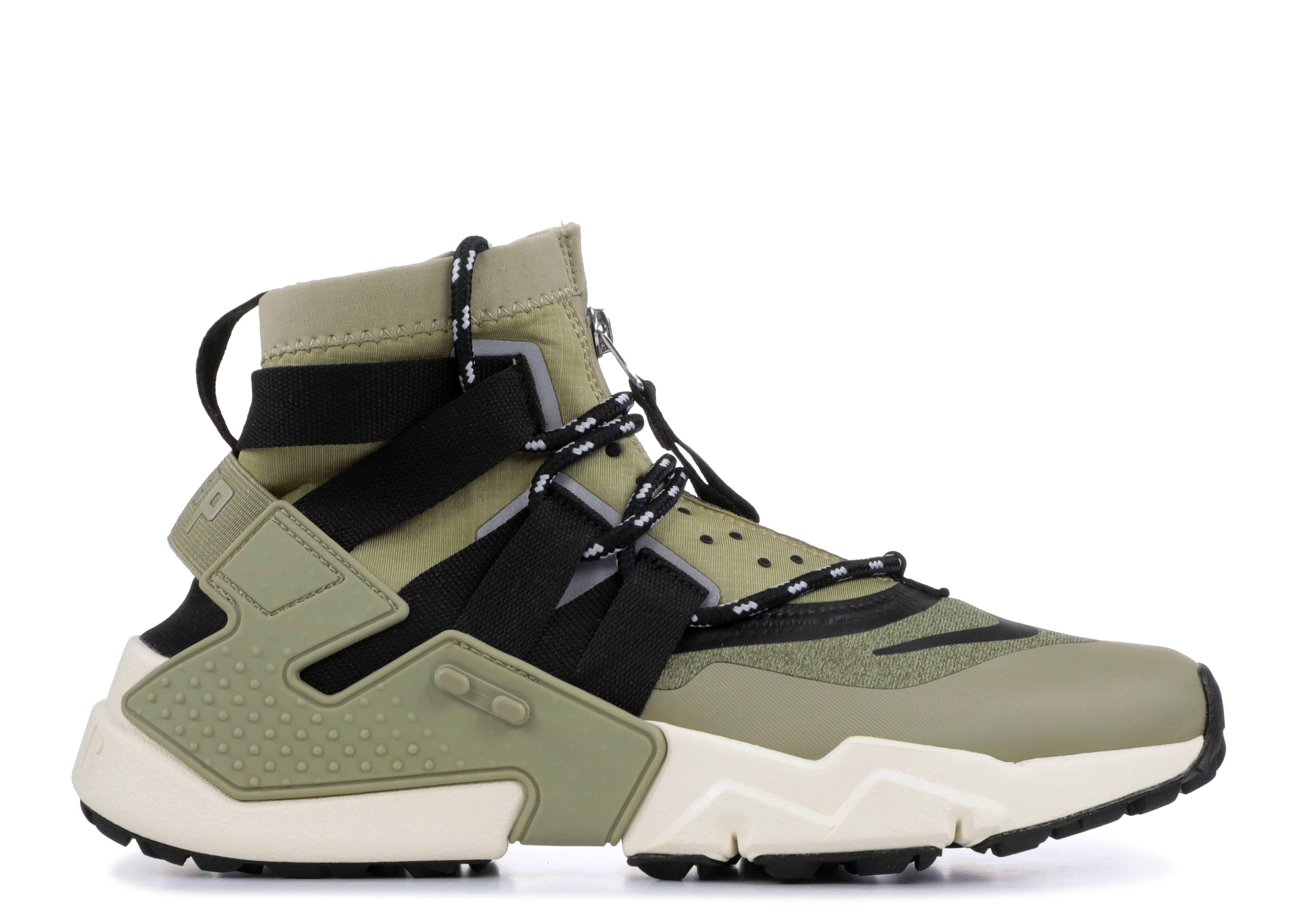 cc9caaaa8c Nike Air Huarache Gripp - Nike - ao1730 200 - neutral olive /black ...