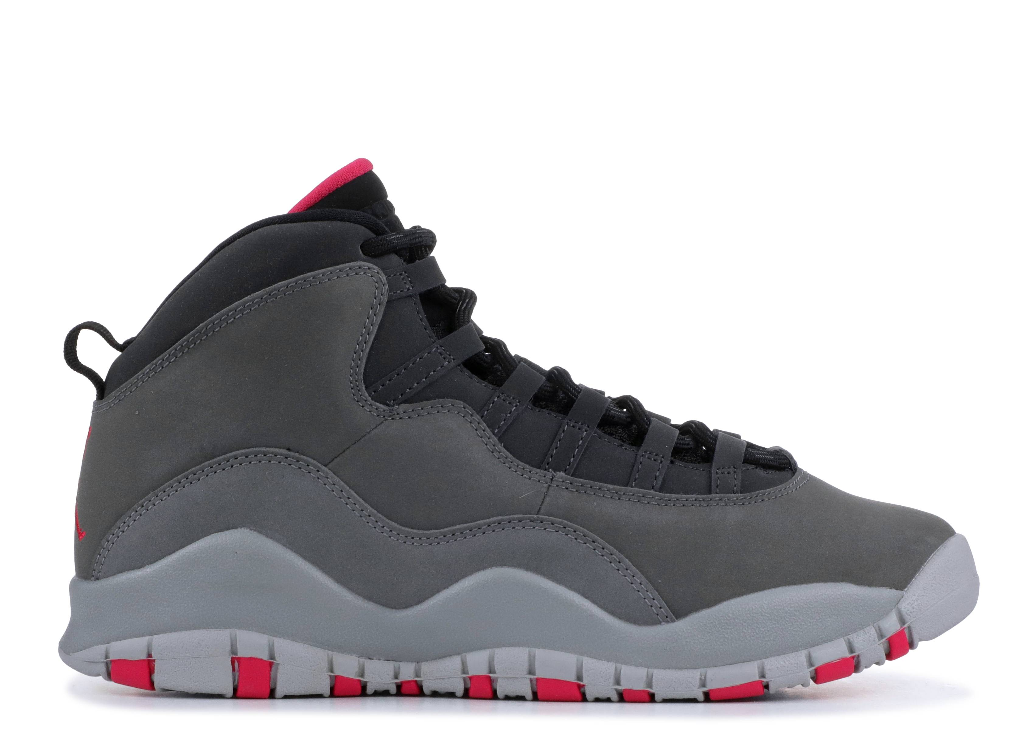 "Air Jordan 10 Retro GS 'Smoke Grey' ""Smoke Grey"""