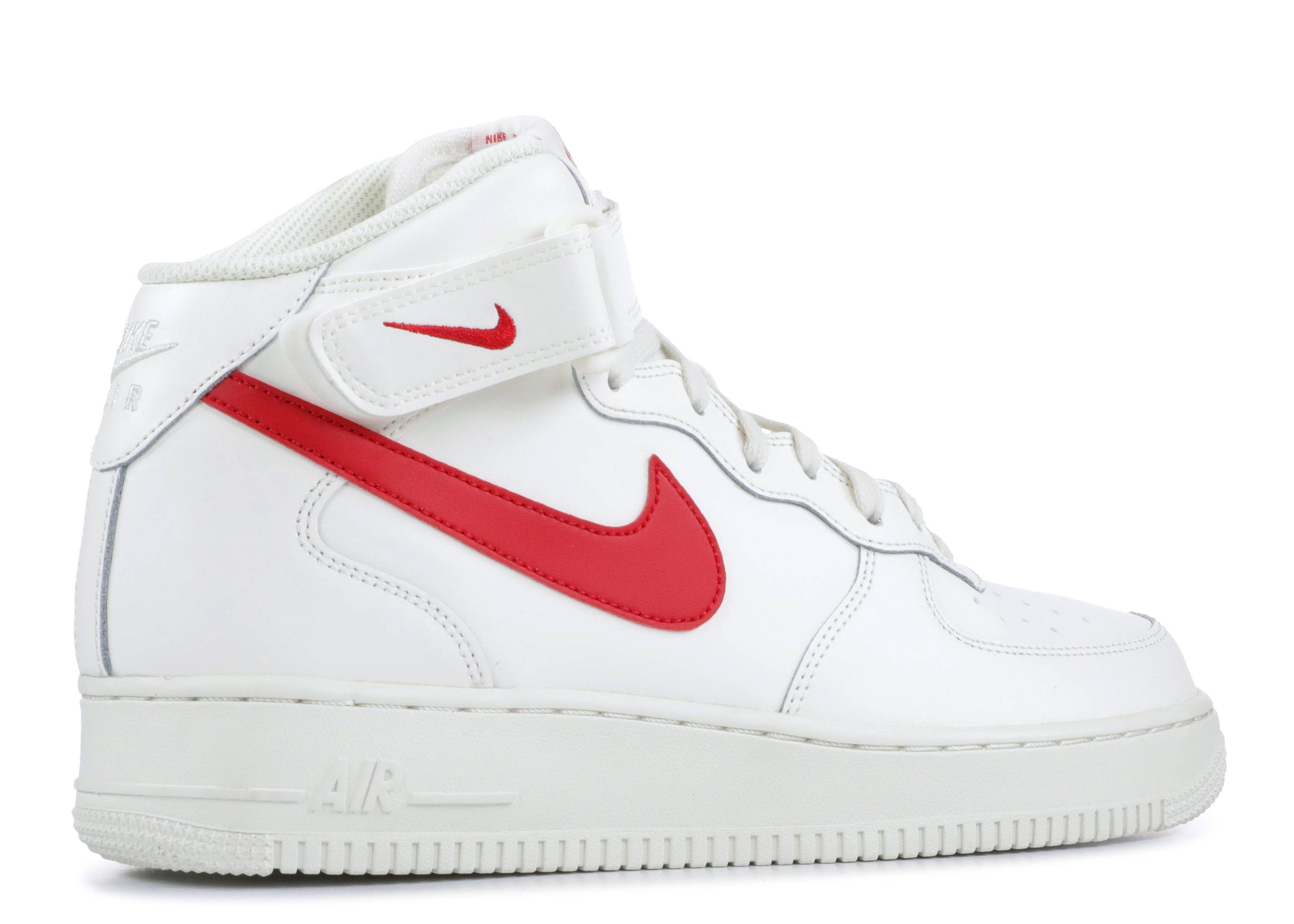 vendedor Prisionero de guerra Unirse  Air Force 1 Mid '07 'Sail' - Nike - 315123 126 - sail/university red |  Flight Club