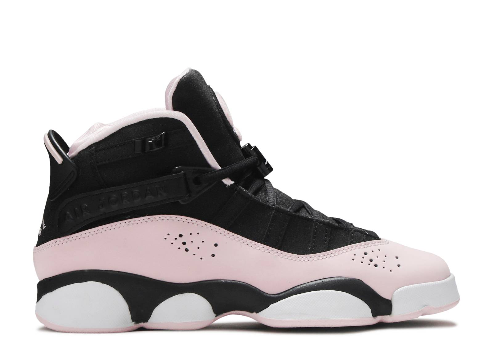 new concept 6ea07 bbd90 Jordan 6 Rings GS 'Black Pink Foam'