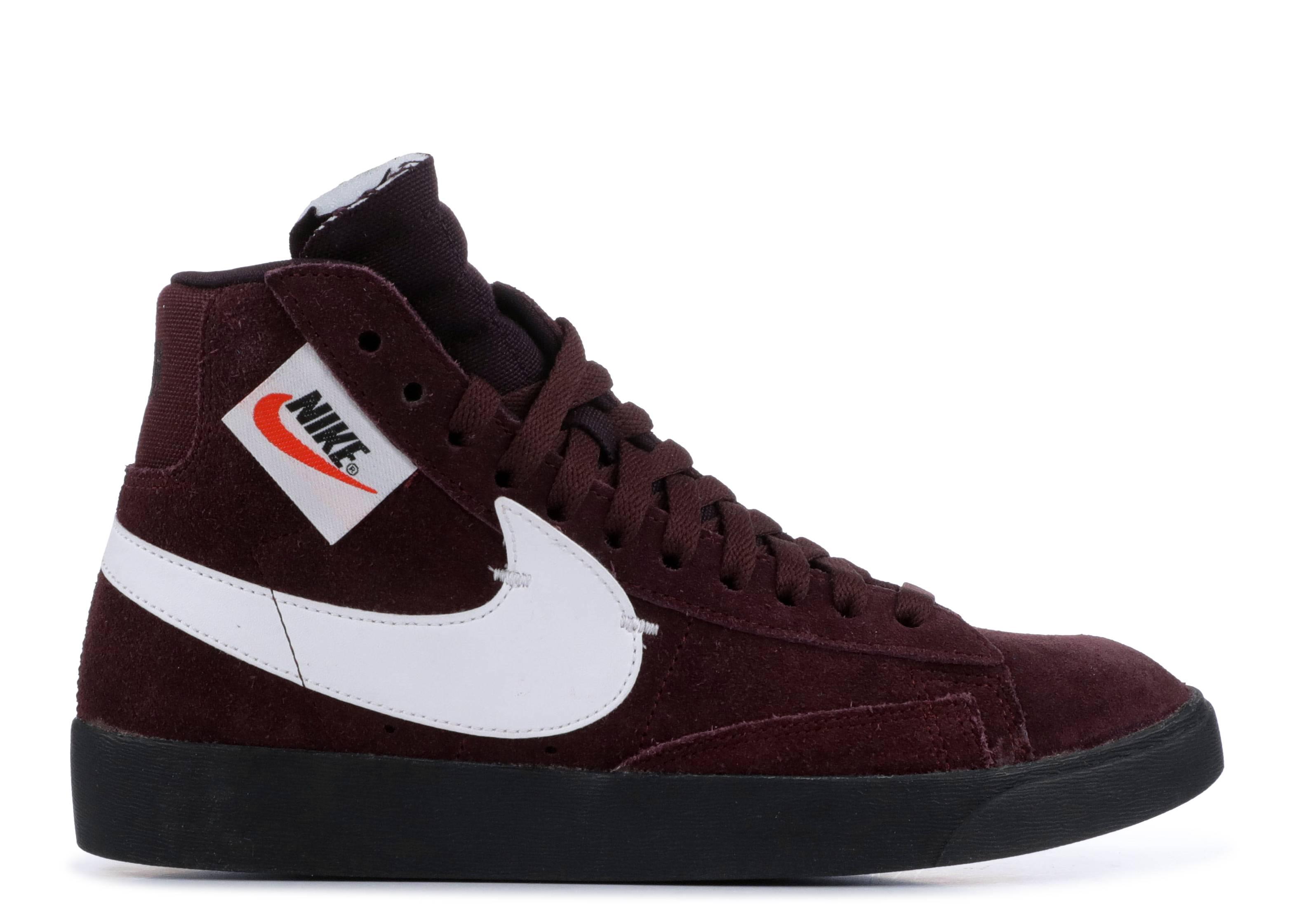 Nike Blazer Mid Rebel Burgundy Crush (W)