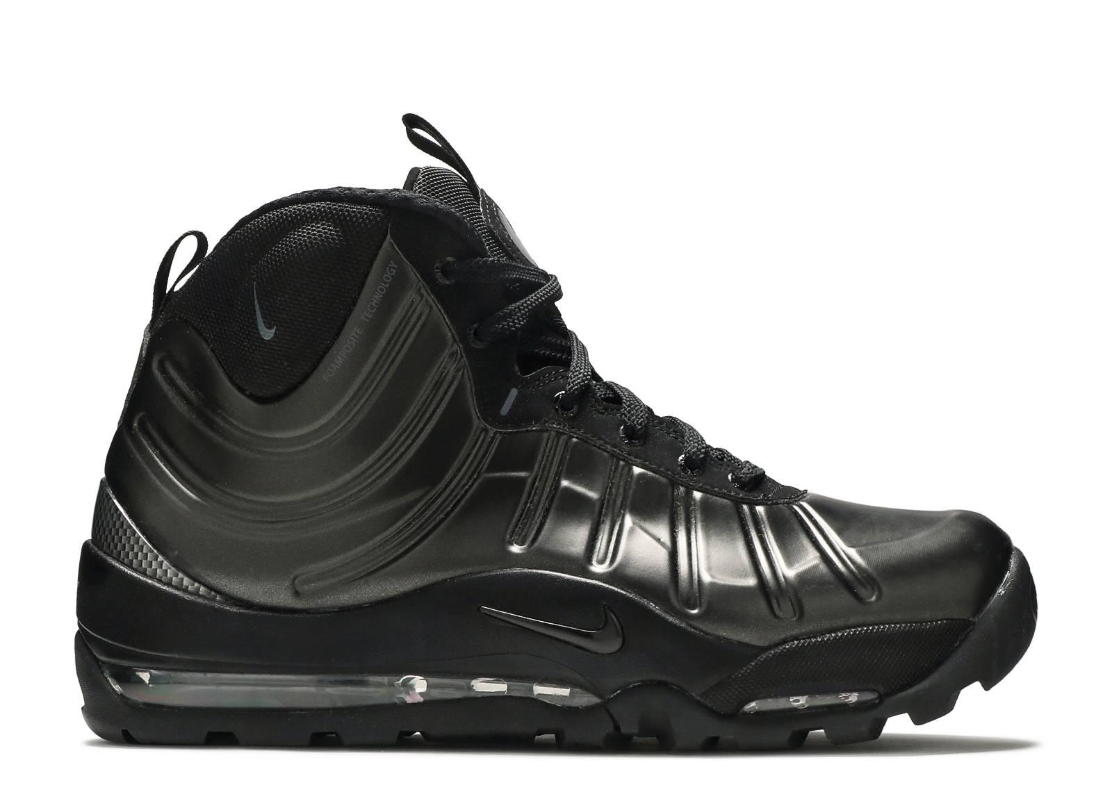 "Nike Air Bakin Posite  ""Triple Black"""