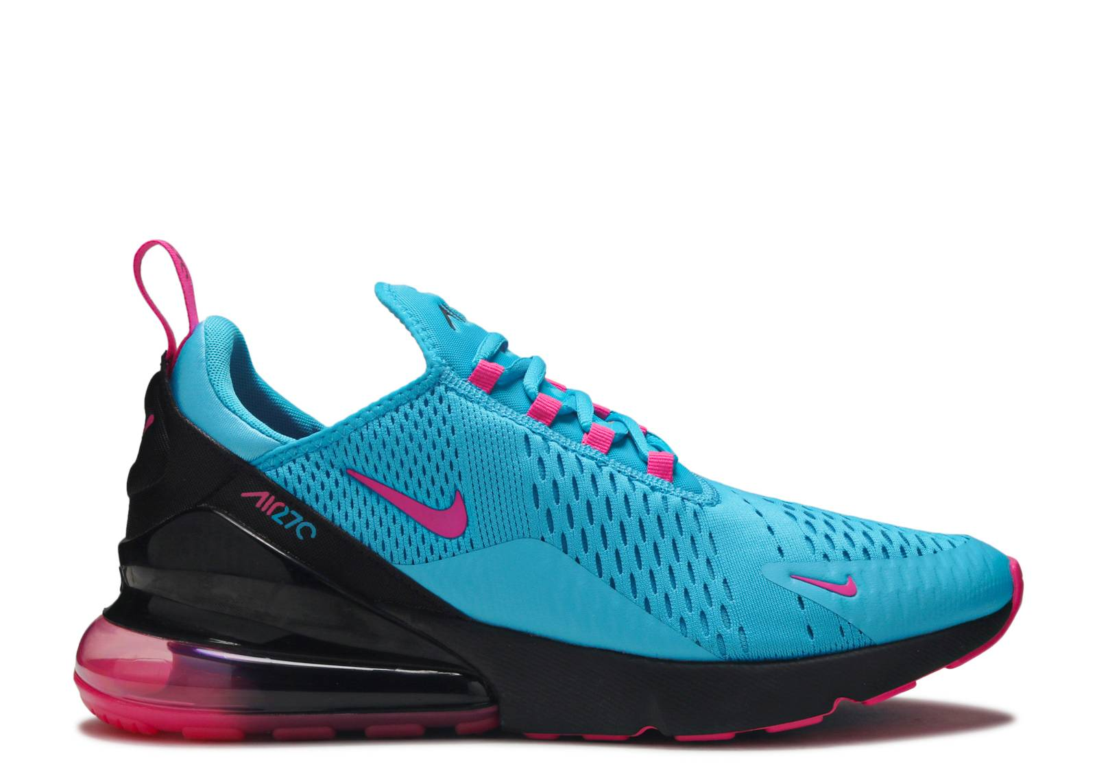 Autorización Masculinidad imagina  Air Max 270 'South Beach' - Nike - BV6078 400 - light blue fury/laser  fuchsia/black | Flight Club