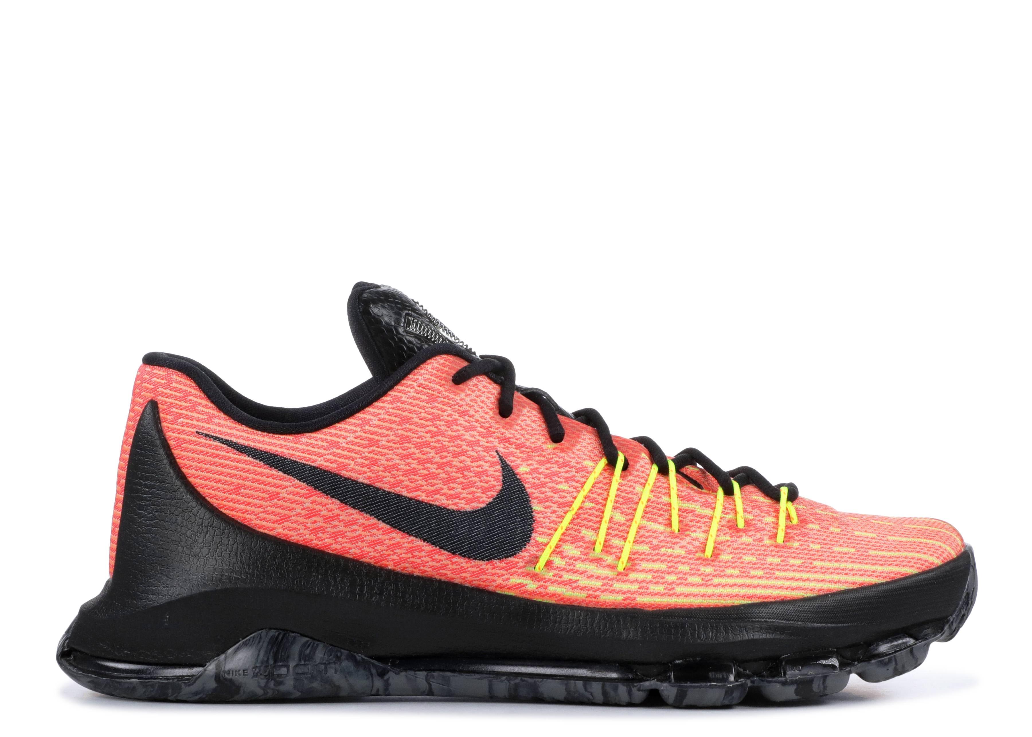 check out 2de00 68818 Kd 8 - Nike - 749375 807 - total orange black volt bright crimson ...