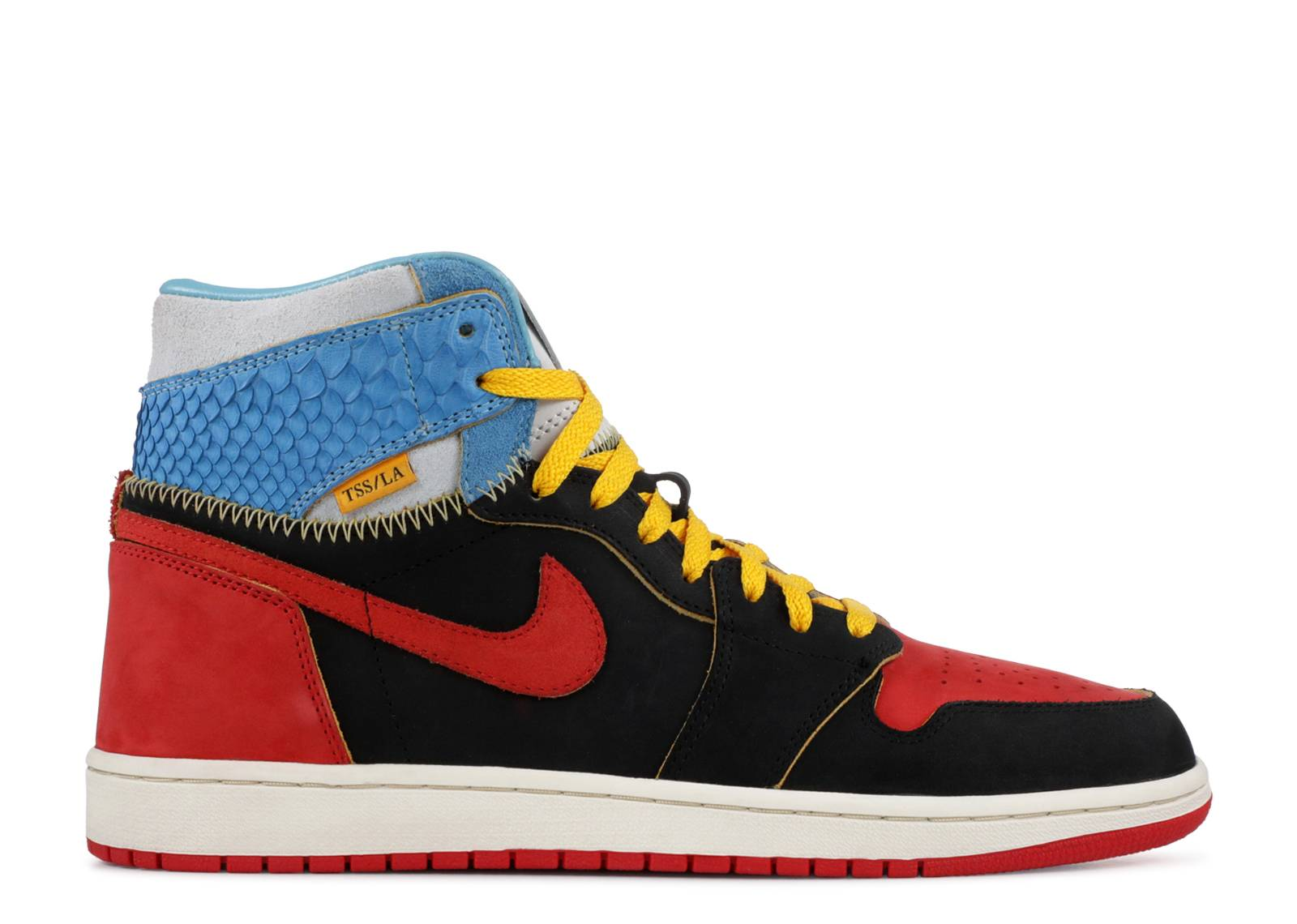 "air jordan 1 ""shoe surgeon lux union unc/bred """