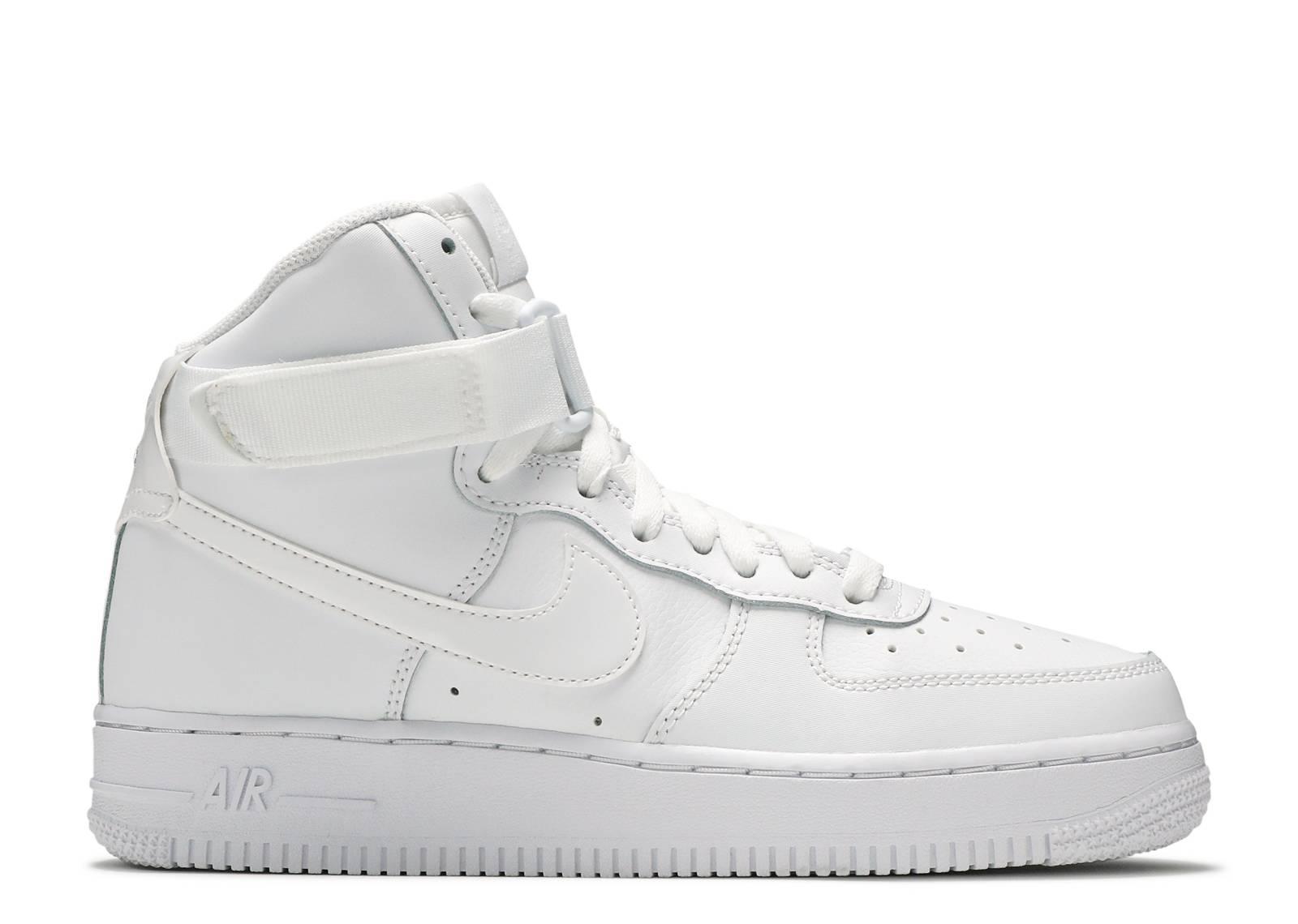 """air force 1 high gs """"White"""""""
