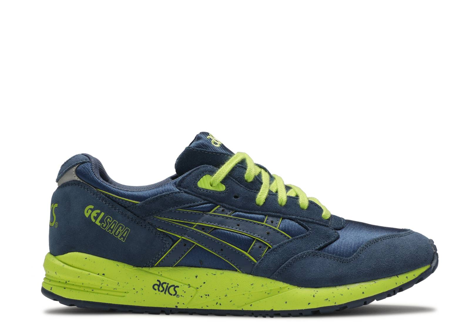asics GELSAGA navy X yellow H137K 5151 ASICS gel saga dark blue X limited model out of the Yellow Sea