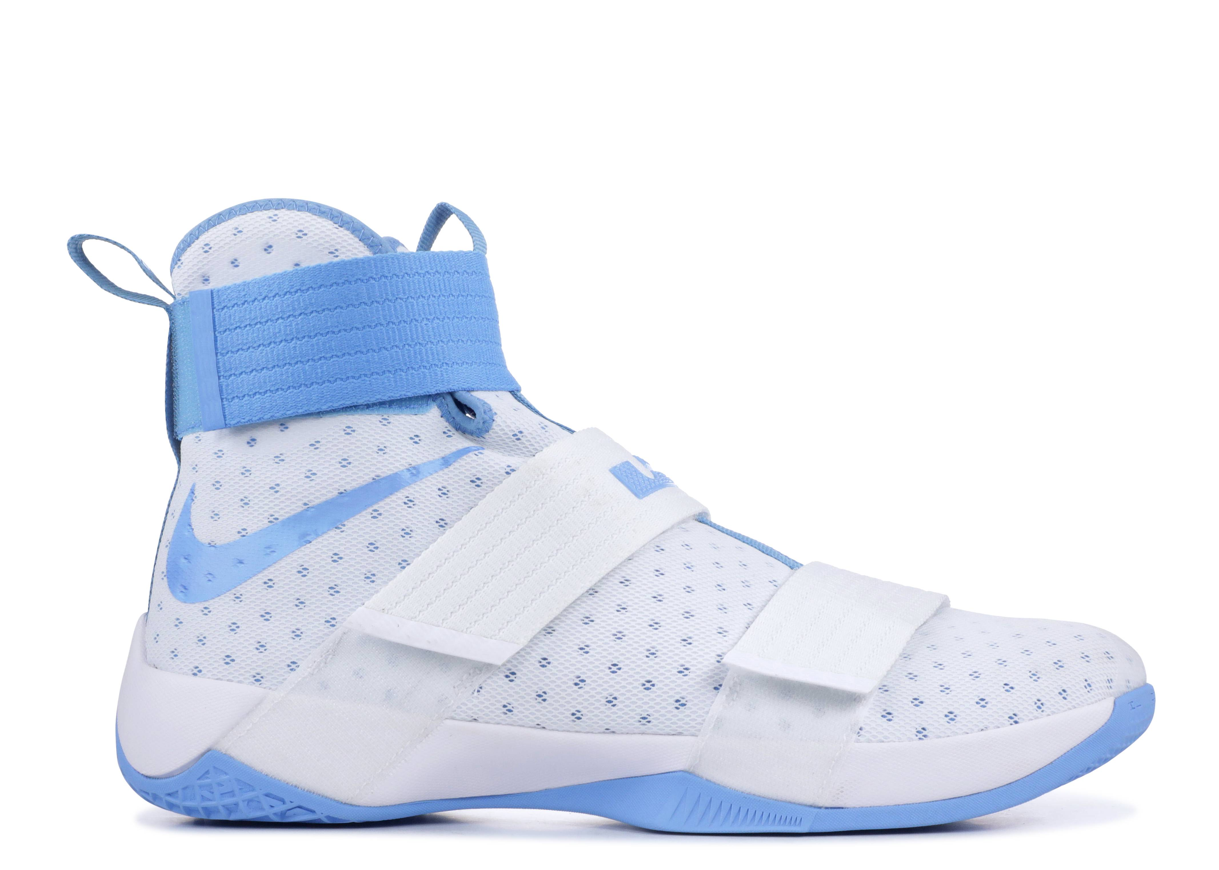 check out 0d659 986aa LeBron Soldier 10 'UNC Tarheels'