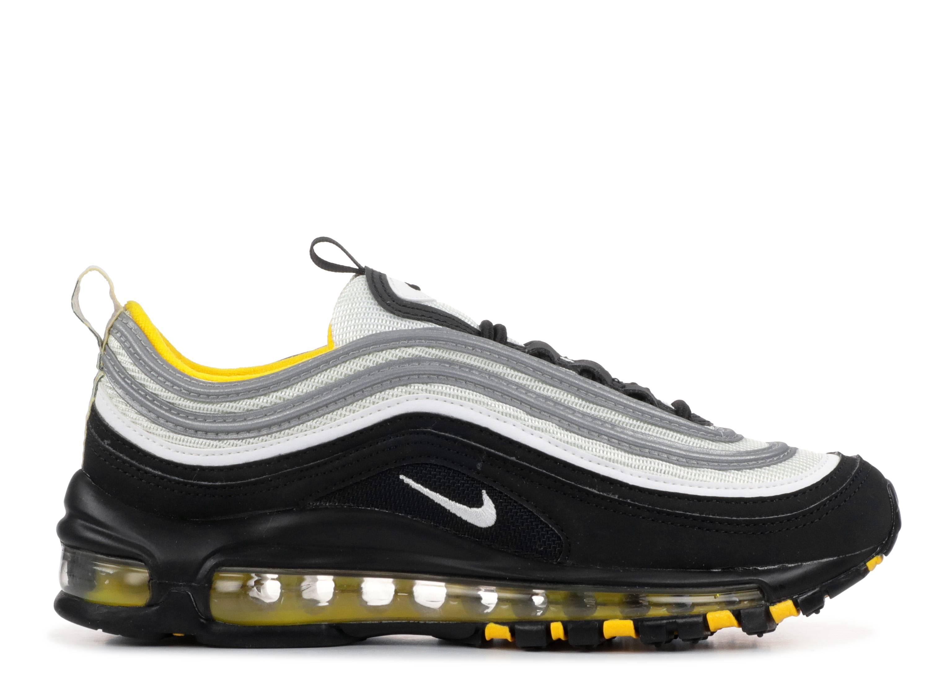 Nike Air Max 97 BlackWhiteAmarillo 921522 005 Men's Running Shoes 921522 005
