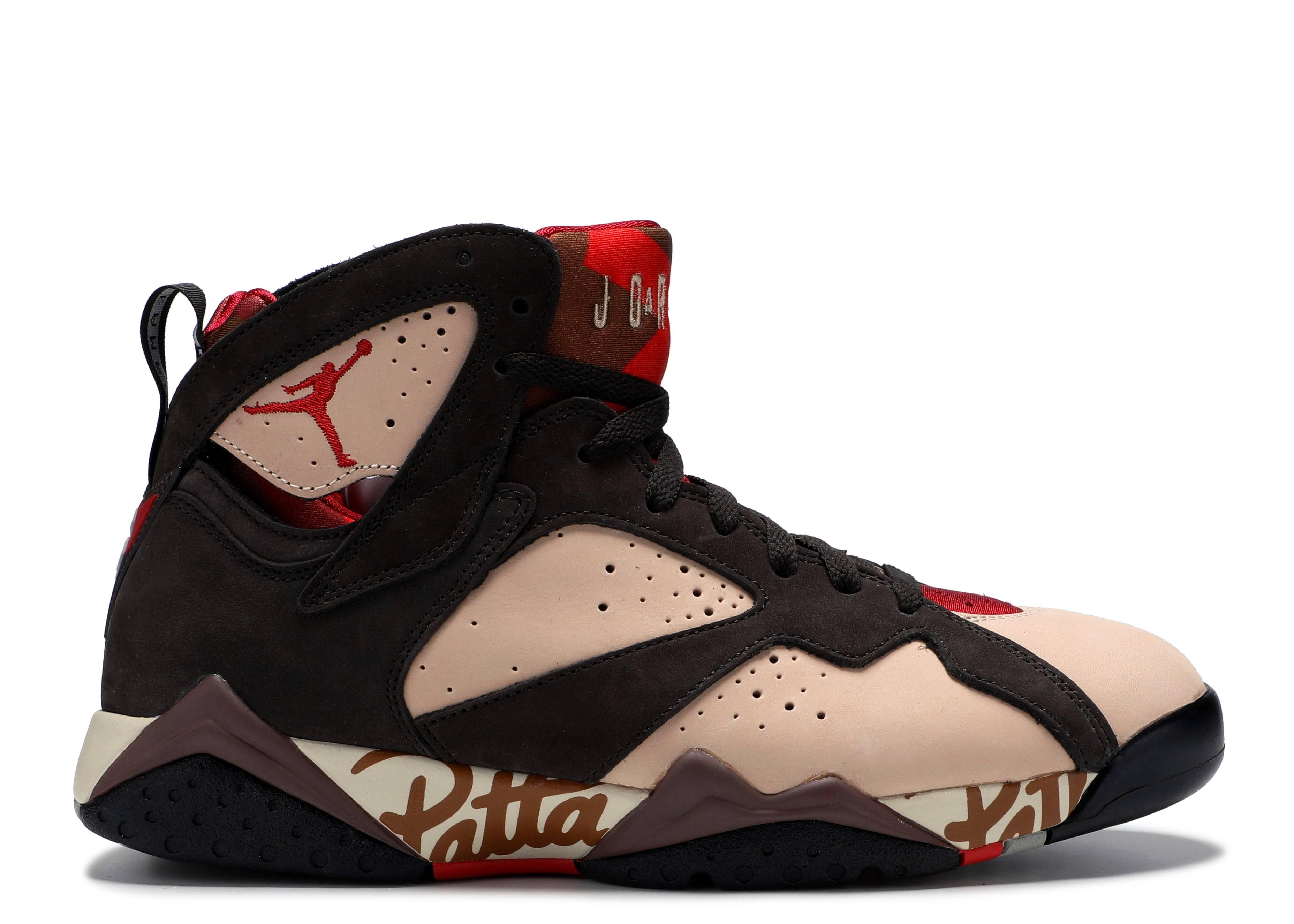 special for shoe info for low priced Air Jordan 7 Retro Patta