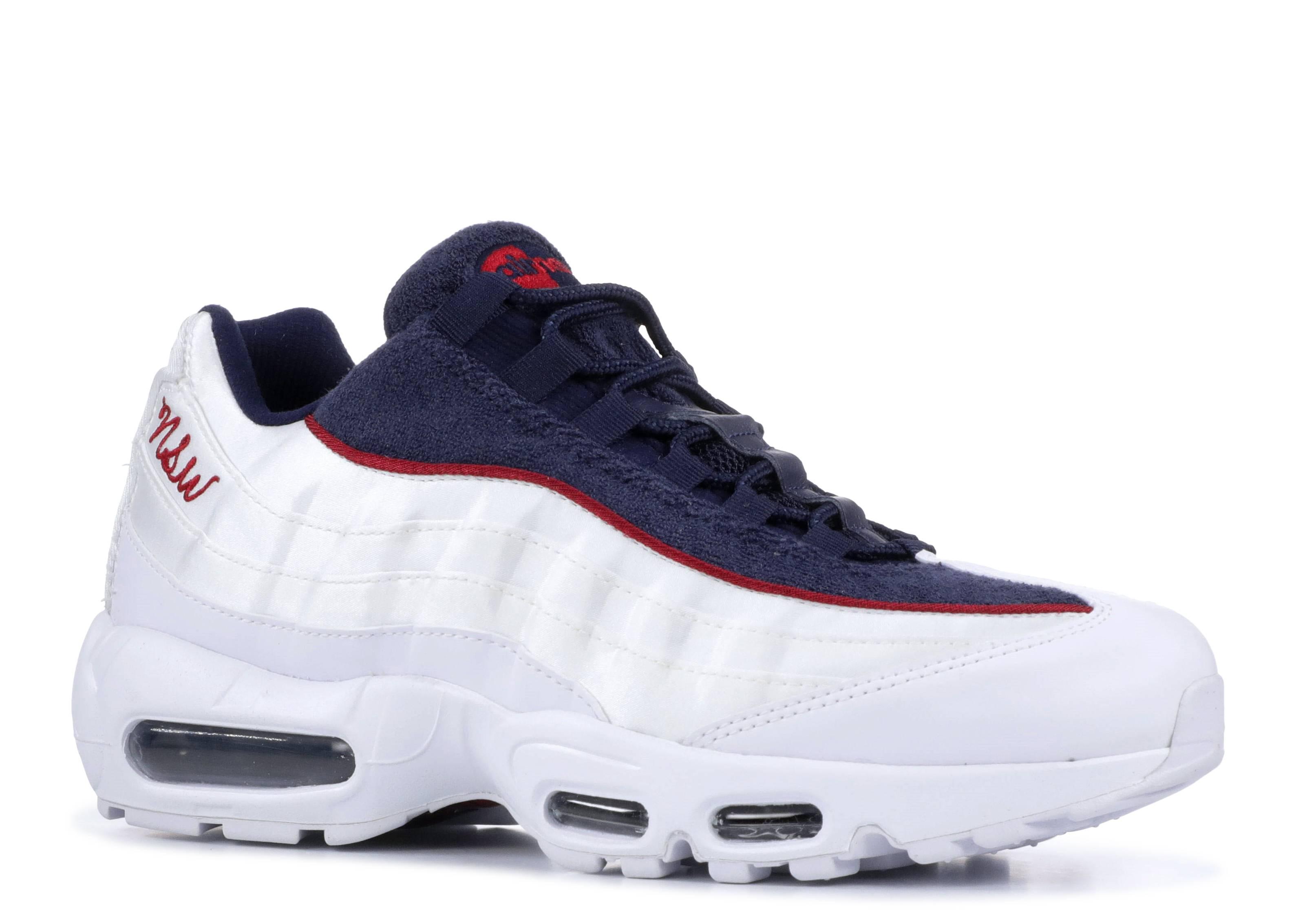 air max 95 red white blue