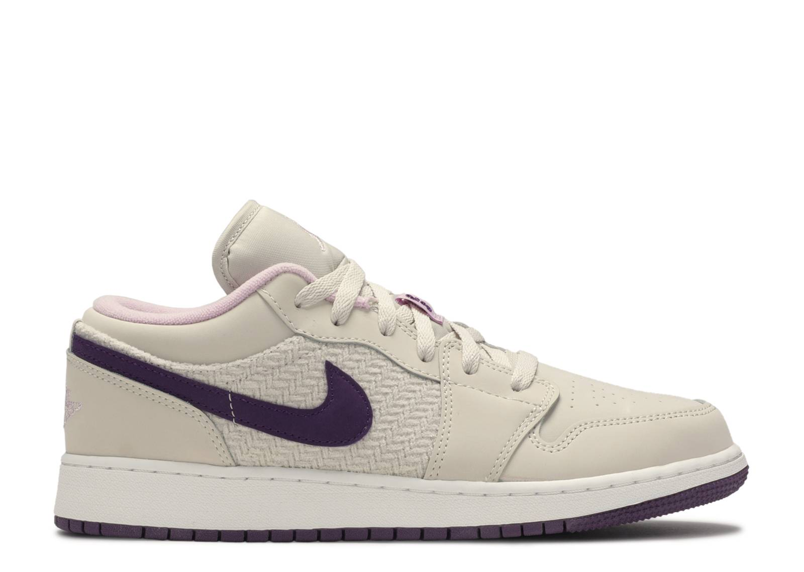 "Air Jordan 1 Low GS ""Night Purple"""