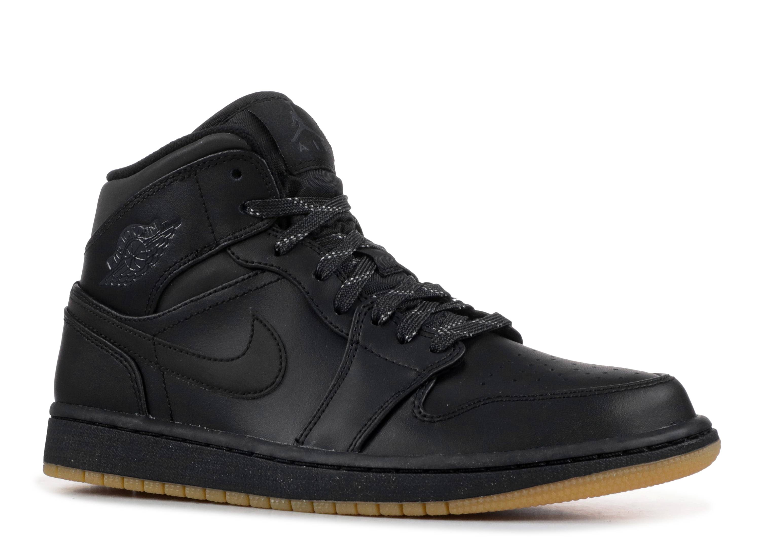 "Air Jordan 1 Mid Winterized 'Black Gum' ""BLACK GUM"""